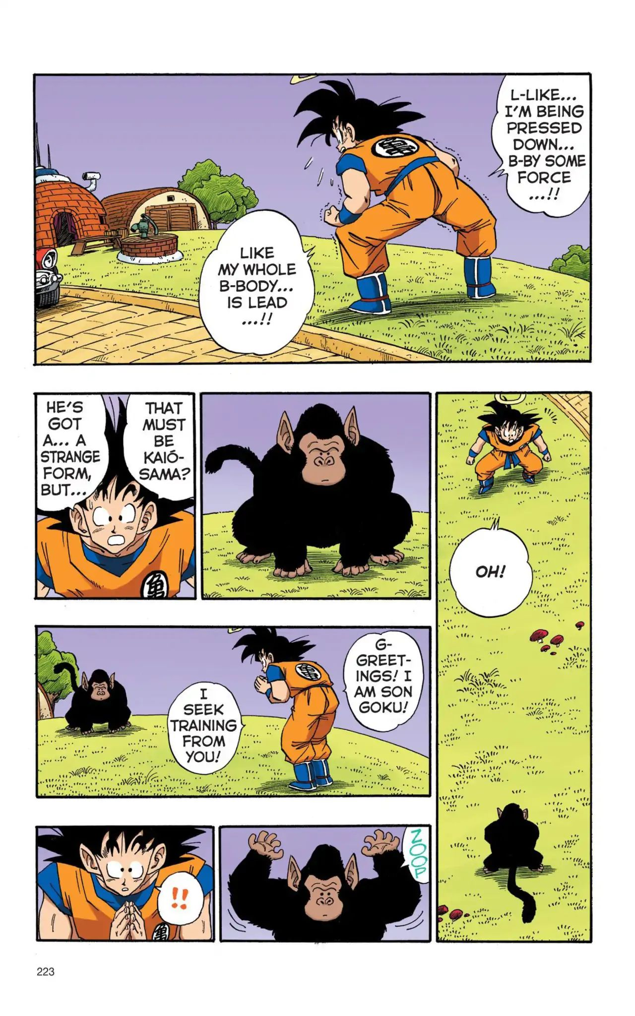 Dragon Ball Full Color Saiyan Arc Chapter 16  Online Free Manga Read Image 8