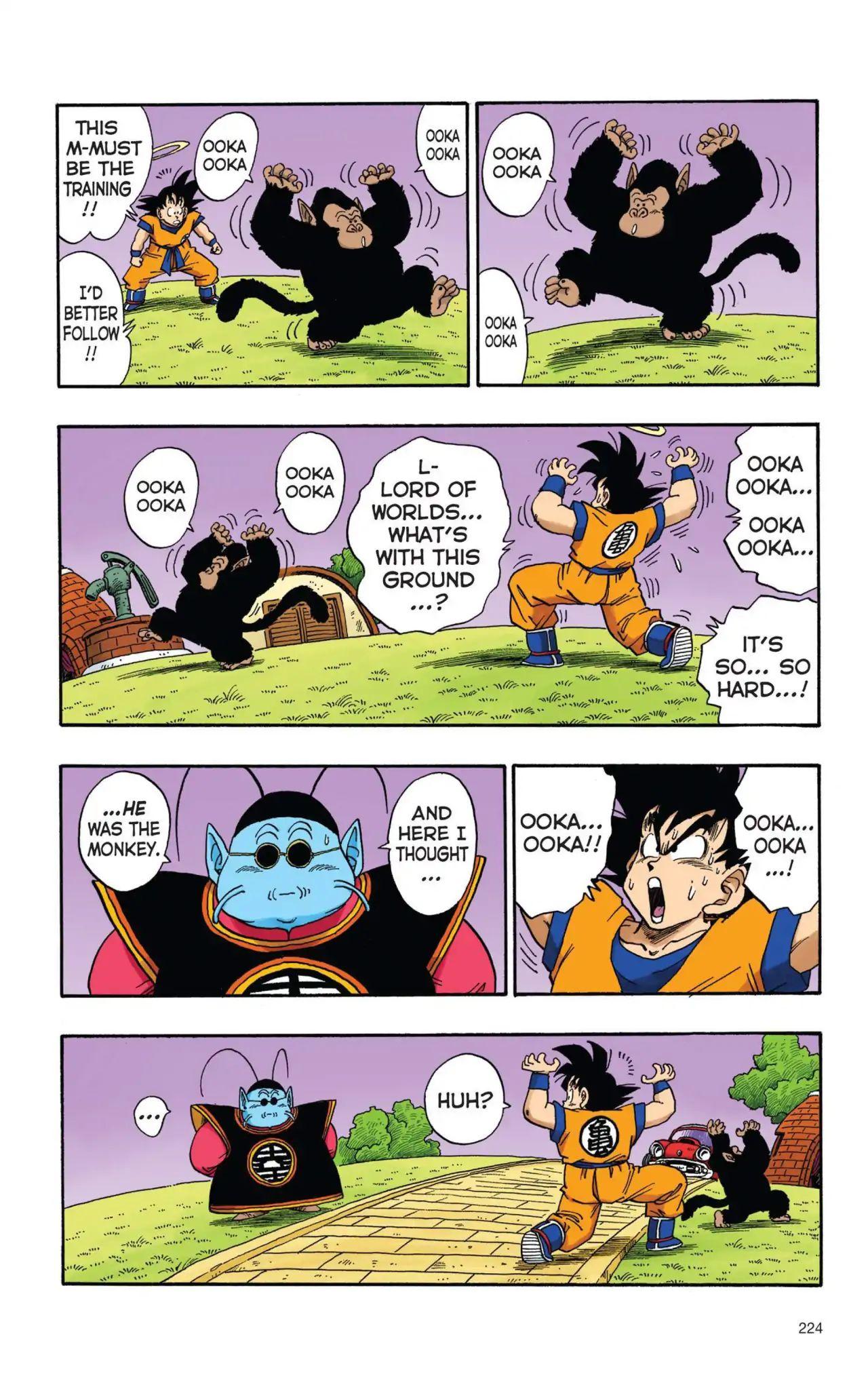 Dragon Ball Full Color Saiyan Arc Chapter 16  Online Free Manga Read Image 9