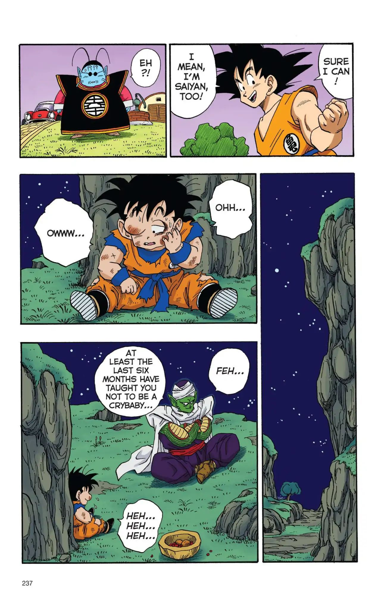 Dragon Ball Full Color Saiyan Arc Chapter 17  Online Free Manga Read Image 8