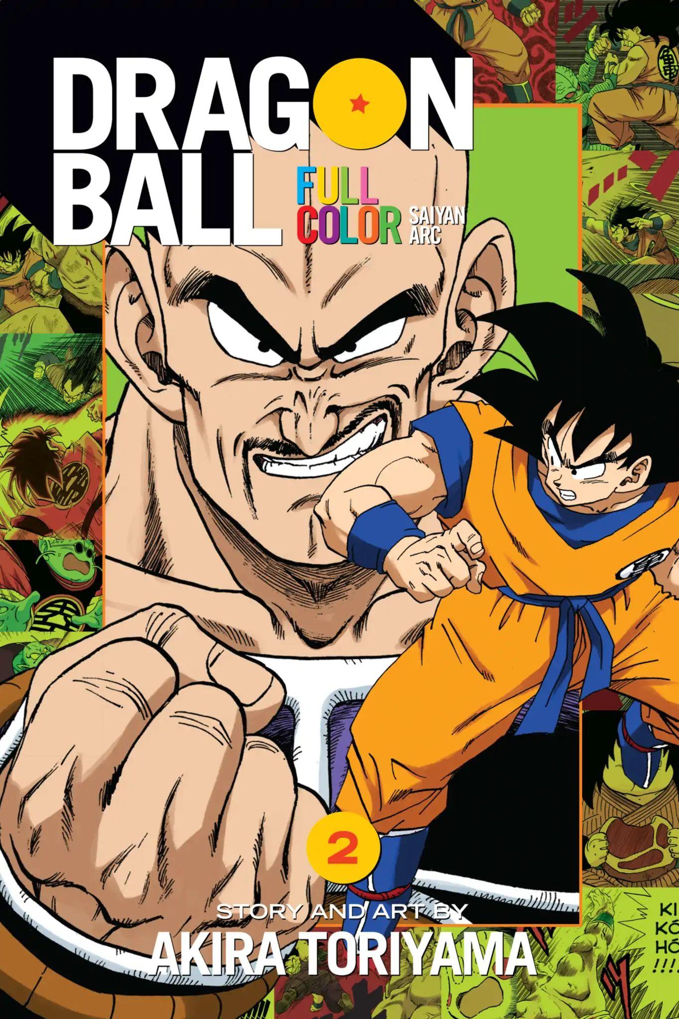 Dragon Ball Full Color Saiyan Arc Chapter 18  Online Free Manga Read Image 1