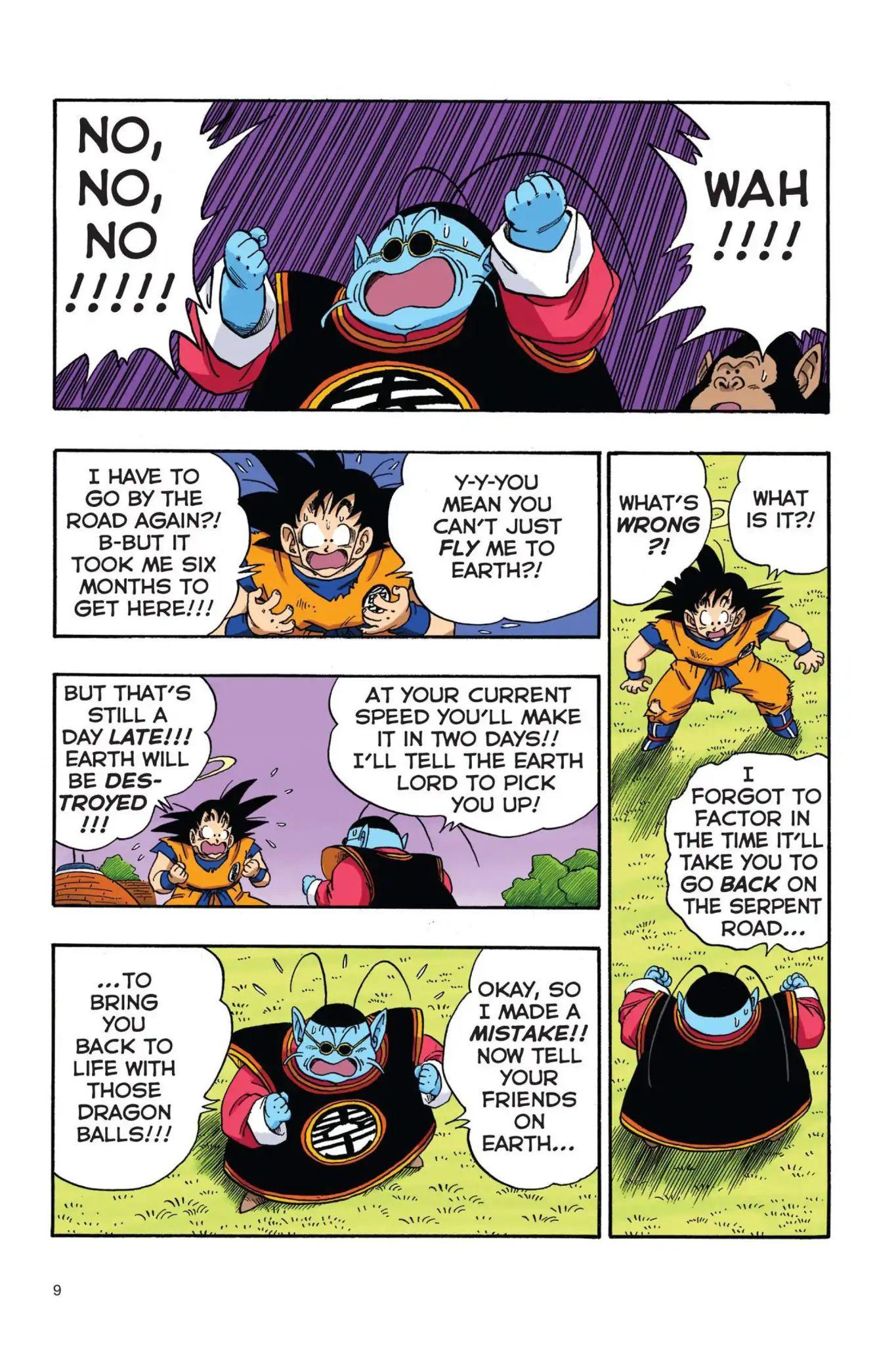 Dragon Ball Full Color Saiyan Arc Chapter 18  Online Free Manga Read Image 10