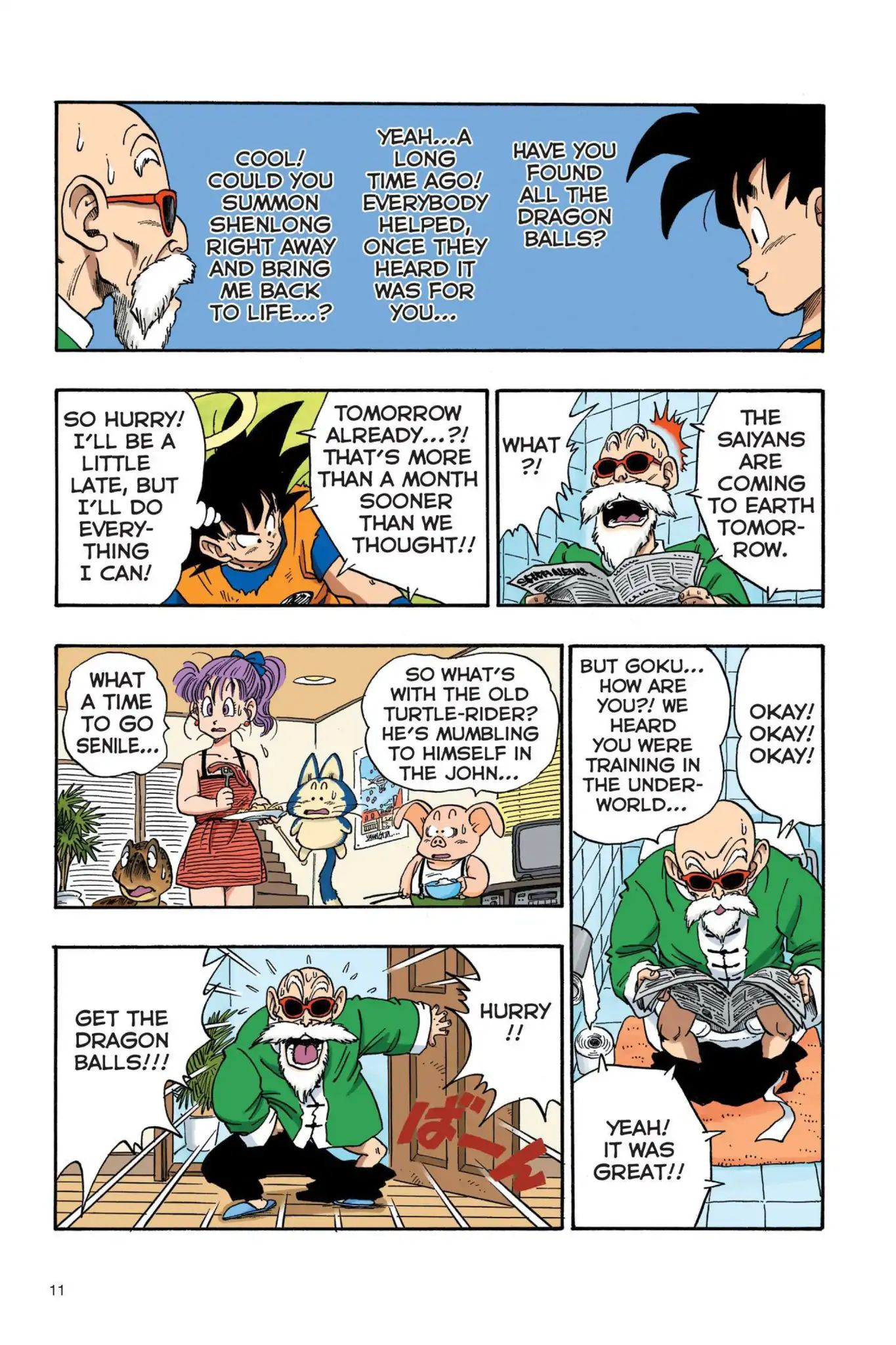 Dragon Ball Full Color Saiyan Arc Chapter 18  Online Free Manga Read Image 12