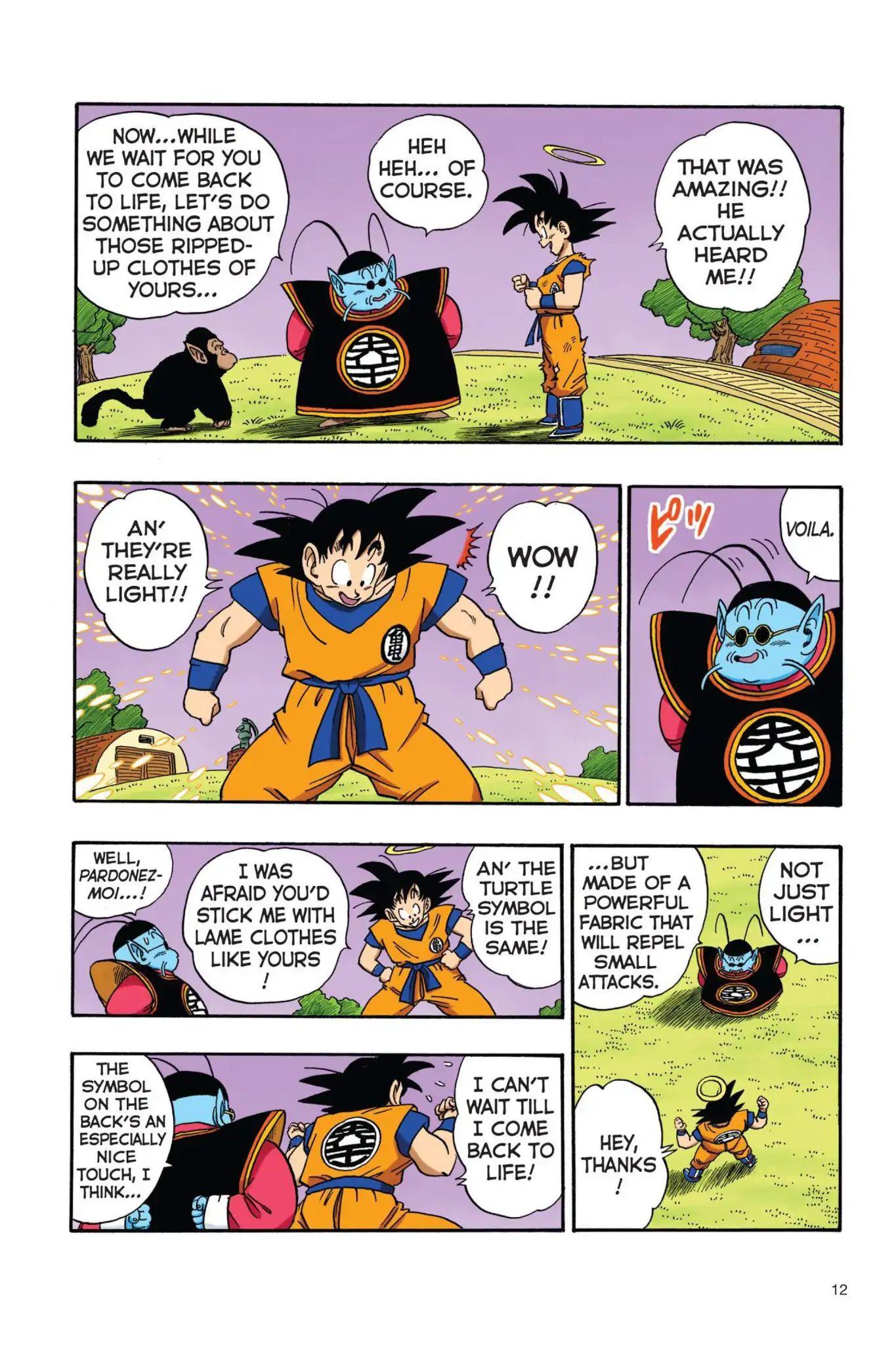 Dragon Ball Full Color Saiyan Arc Chapter 18  Online Free Manga Read Image 13