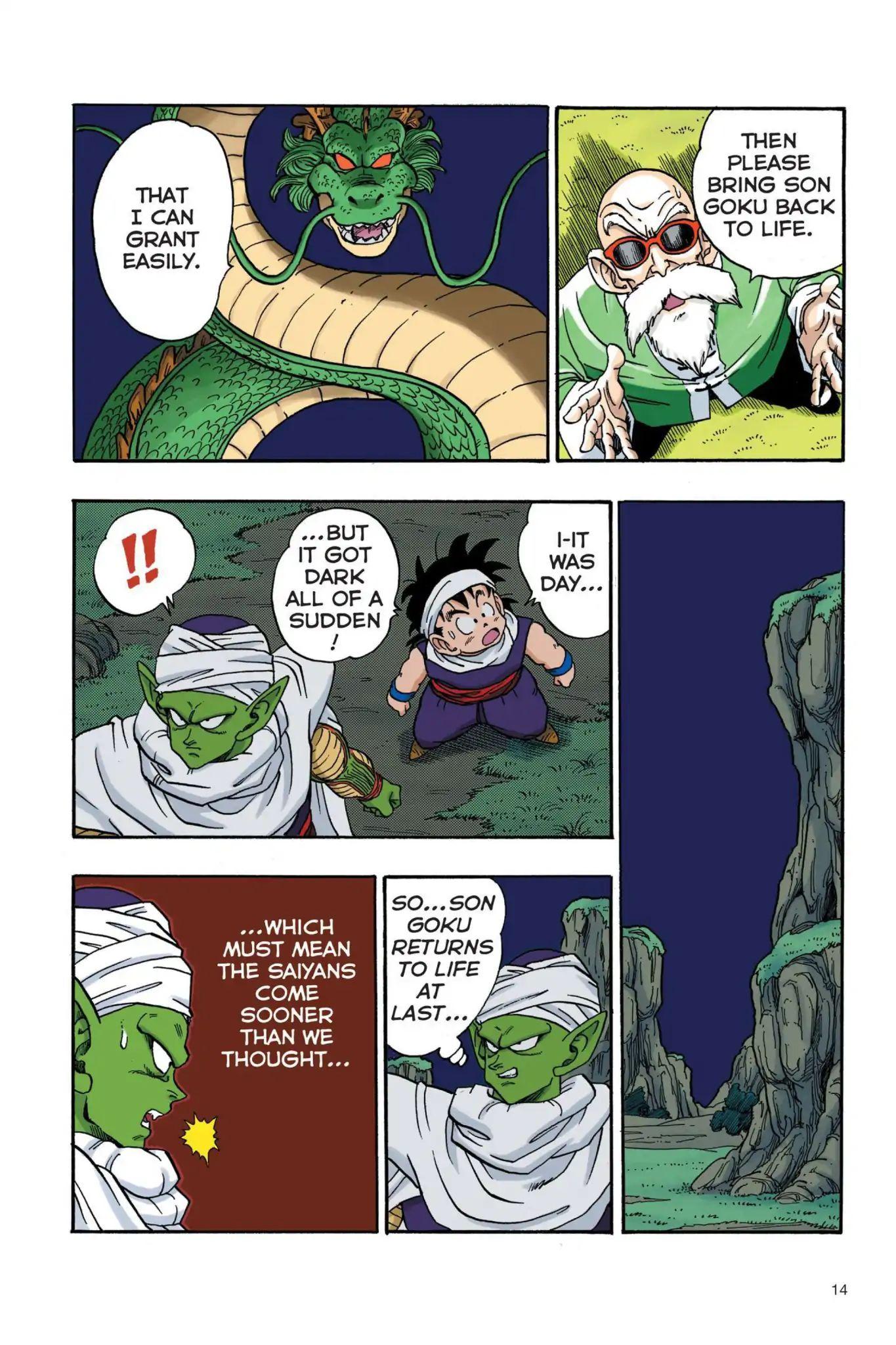 Dragon Ball Full Color Saiyan Arc Chapter 18  Online Free Manga Read Image 15