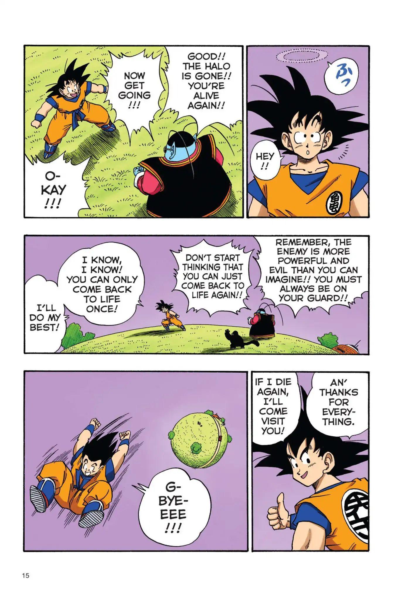 Dragon Ball Full Color Saiyan Arc Chapter 18  Online Free Manga Read Image 16