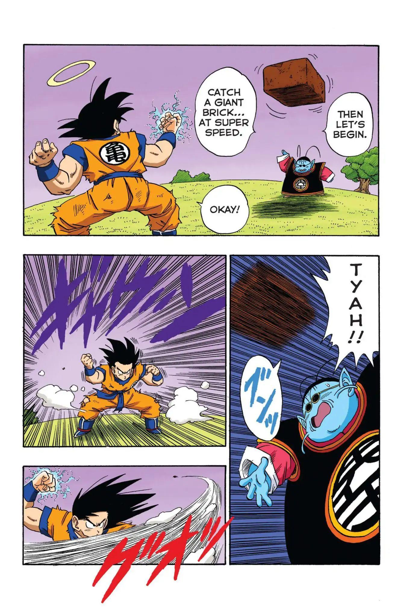 Dragon Ball Full Color Saiyan Arc Chapter 18  Online Free Manga Read Image 6