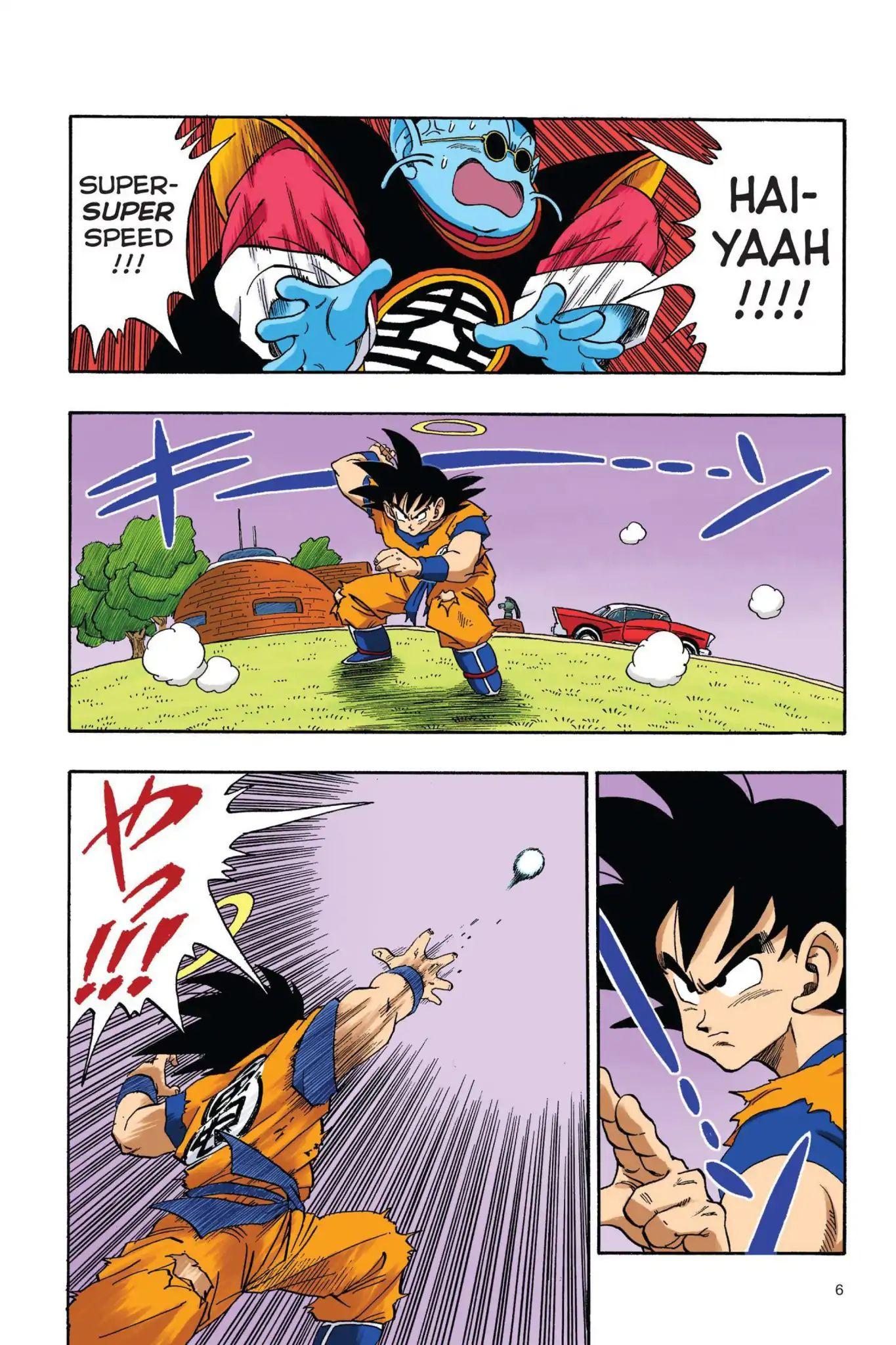 Dragon Ball Full Color Saiyan Arc Chapter 18  Online Free Manga Read Image 7