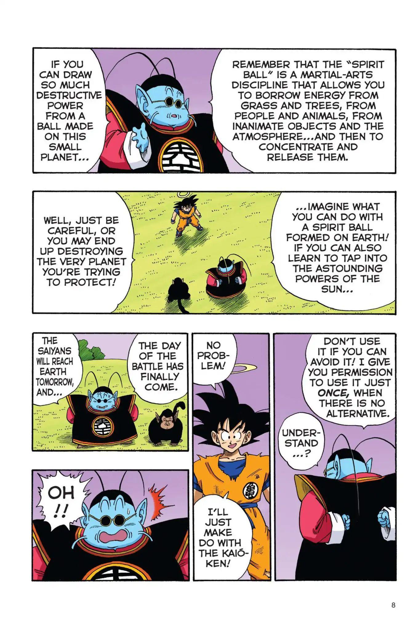 Dragon Ball Full Color Saiyan Arc Chapter 18  Online Free Manga Read Image 9