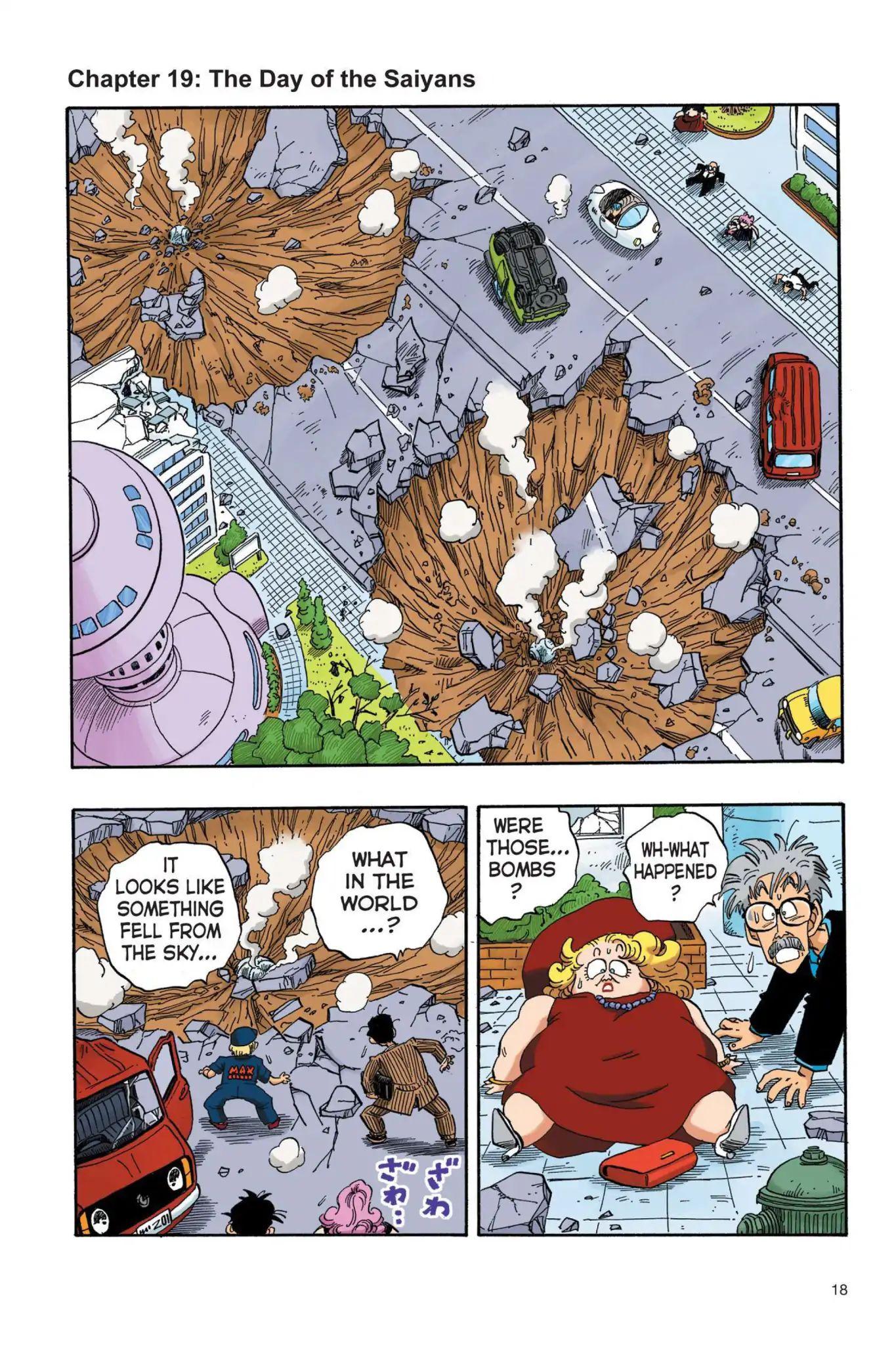 Dragon Ball Full Color Saiyan Arc Chapter 19  Online Free Manga Read Image 1