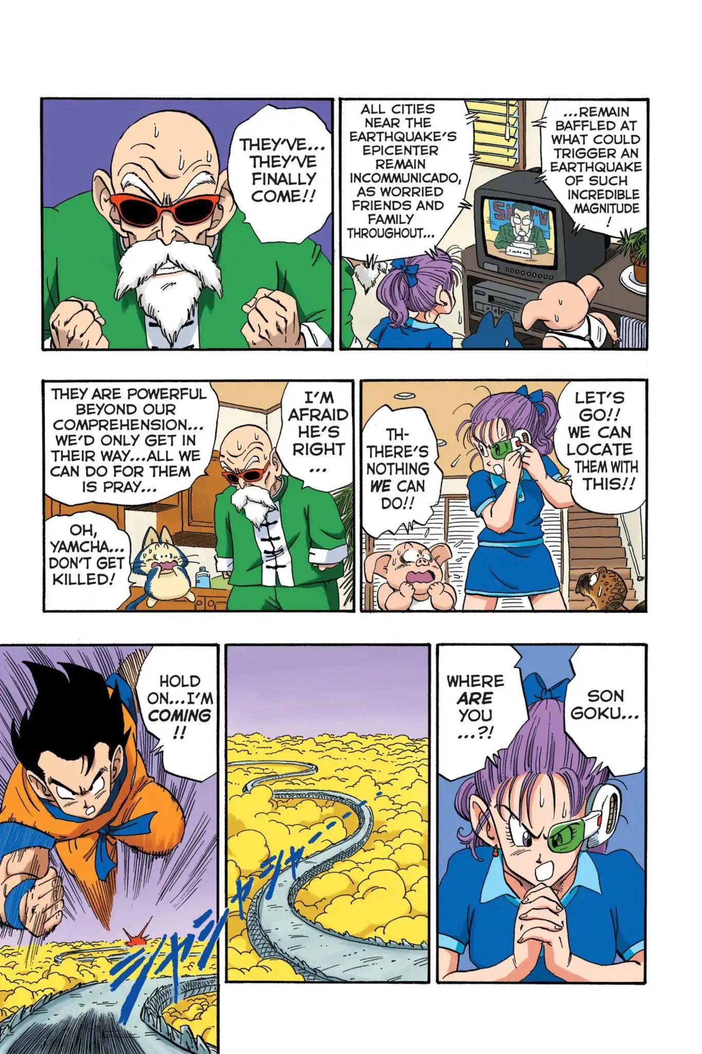 Dragon Ball Full Color Saiyan Arc Chapter 19  Online Free Manga Read Image 10