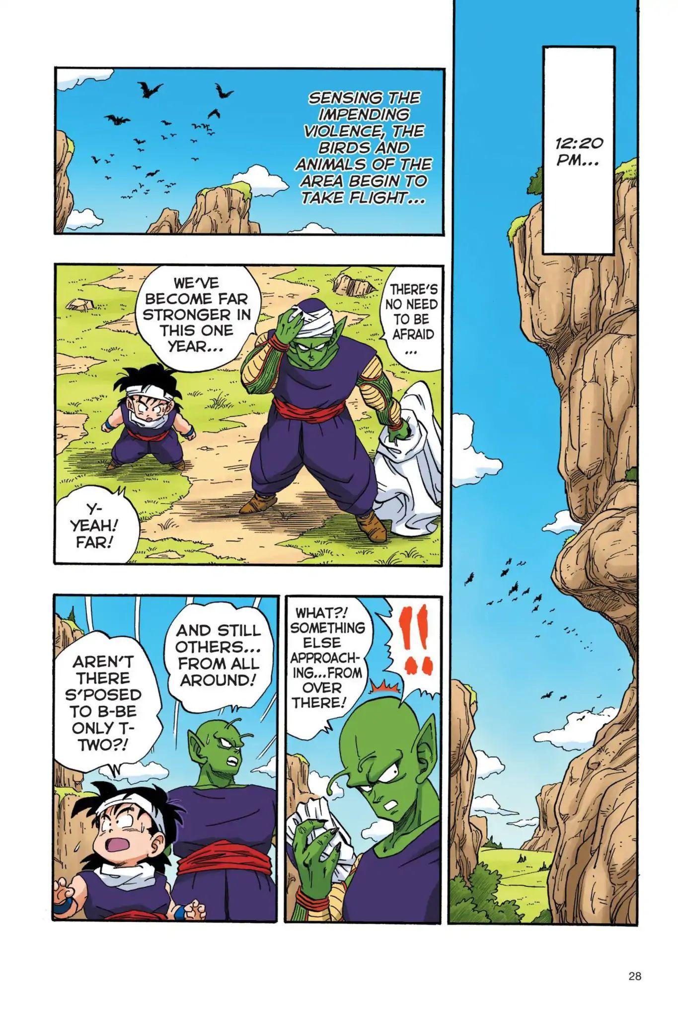 Dragon Ball Full Color Saiyan Arc Chapter 19  Online Free Manga Read Image 11