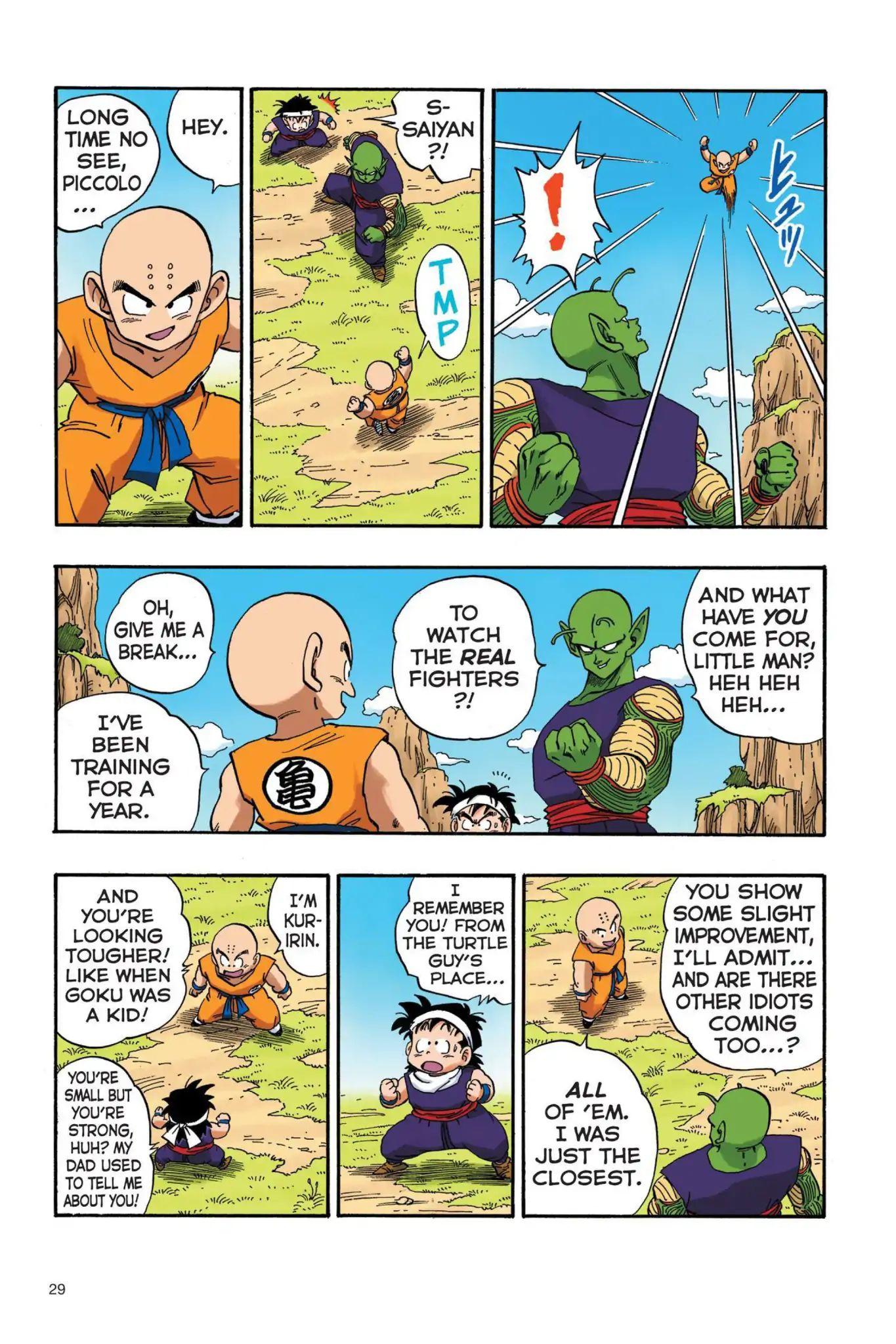 Dragon Ball Full Color Saiyan Arc Chapter 19  Online Free Manga Read Image 12