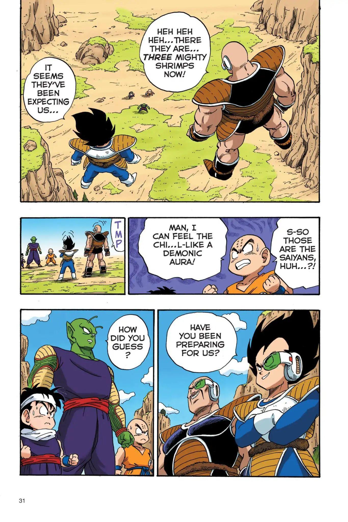 Dragon Ball Full Color Saiyan Arc Chapter 19  Online Free Manga Read Image 14