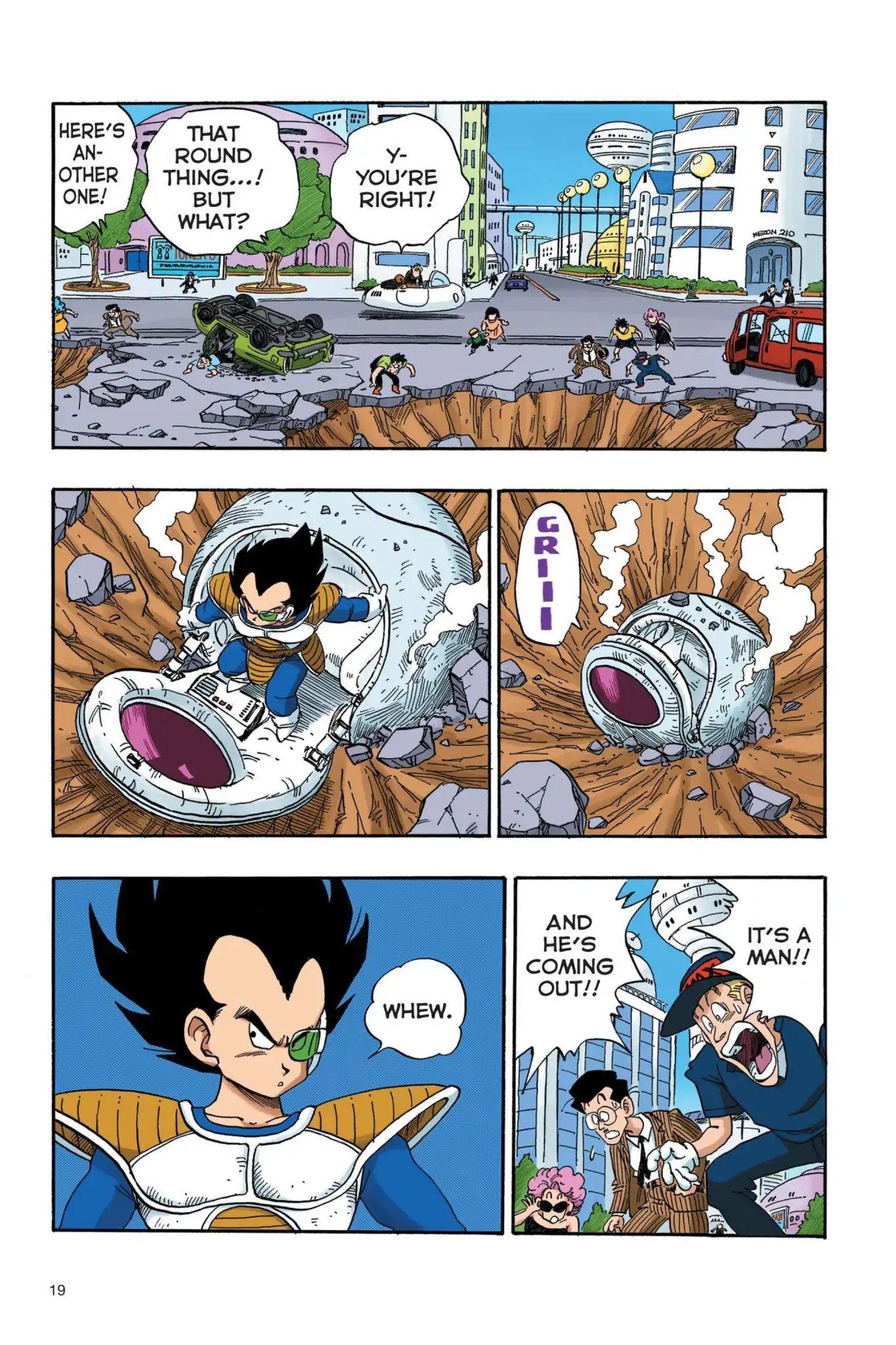 Dragon Ball Full Color Saiyan Arc Chapter 19  Online Free Manga Read Image 2