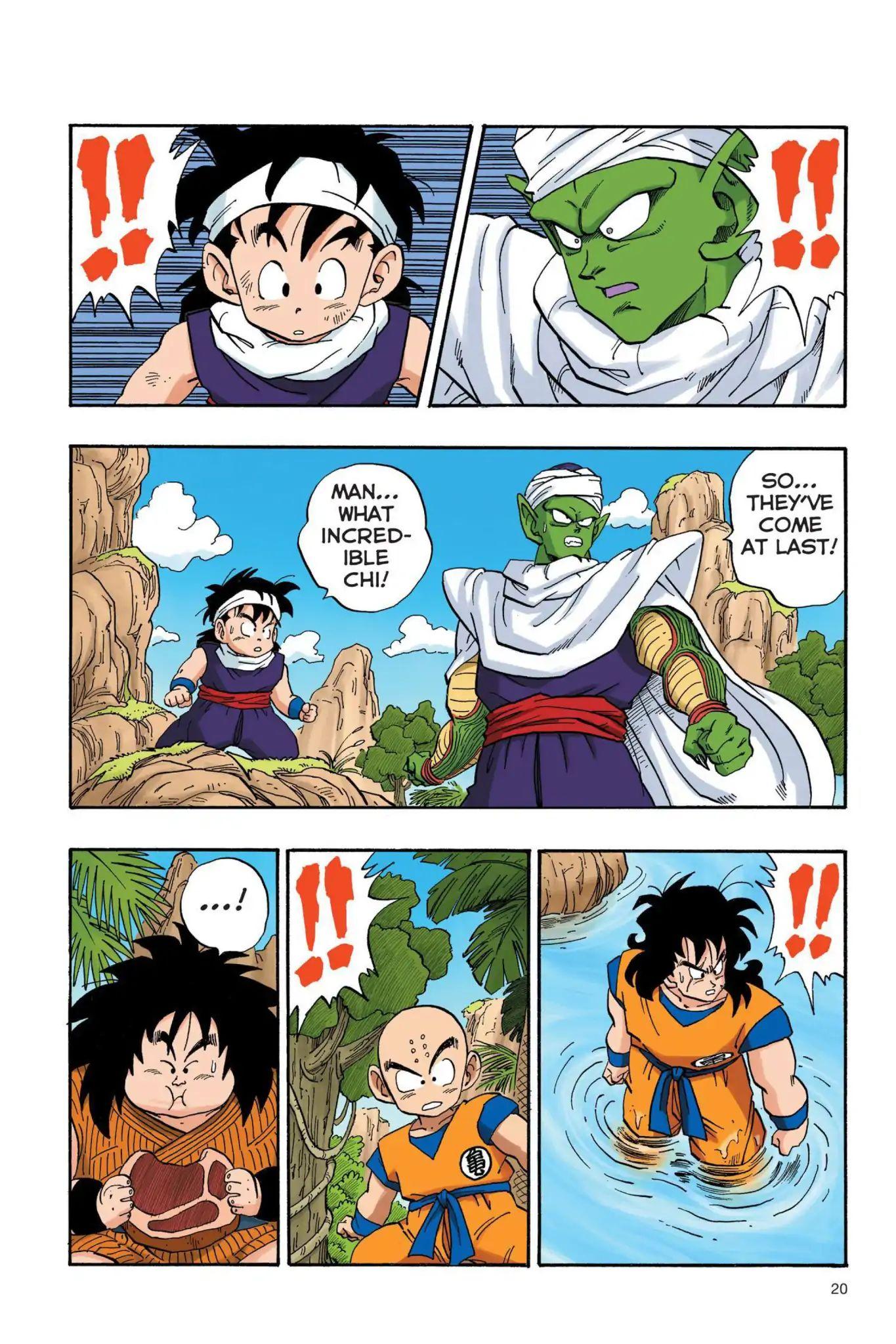 Dragon Ball Full Color Saiyan Arc Chapter 19  Online Free Manga Read Image 3