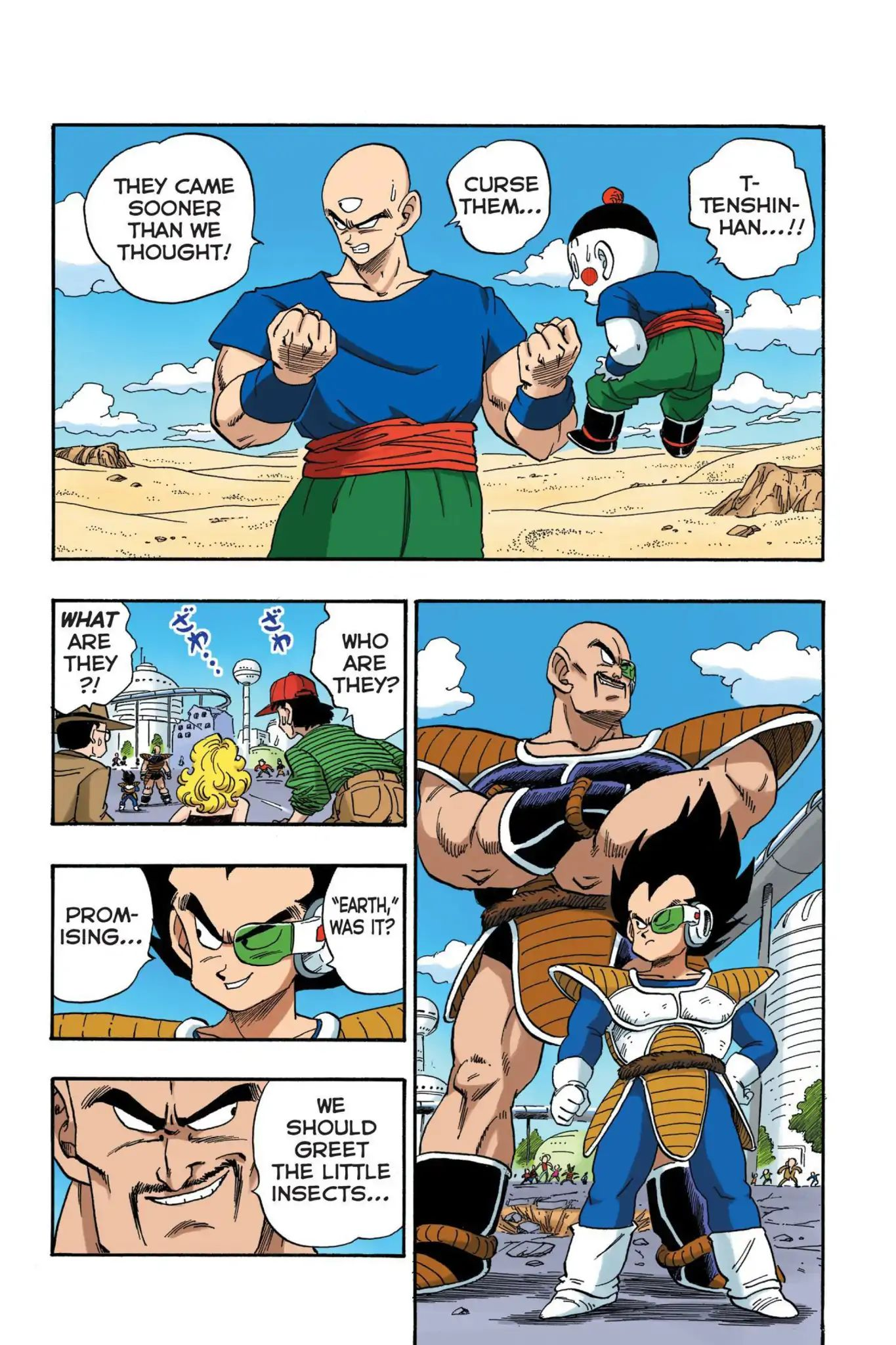 Dragon Ball Full Color Saiyan Arc Chapter 19  Online Free Manga Read Image 4