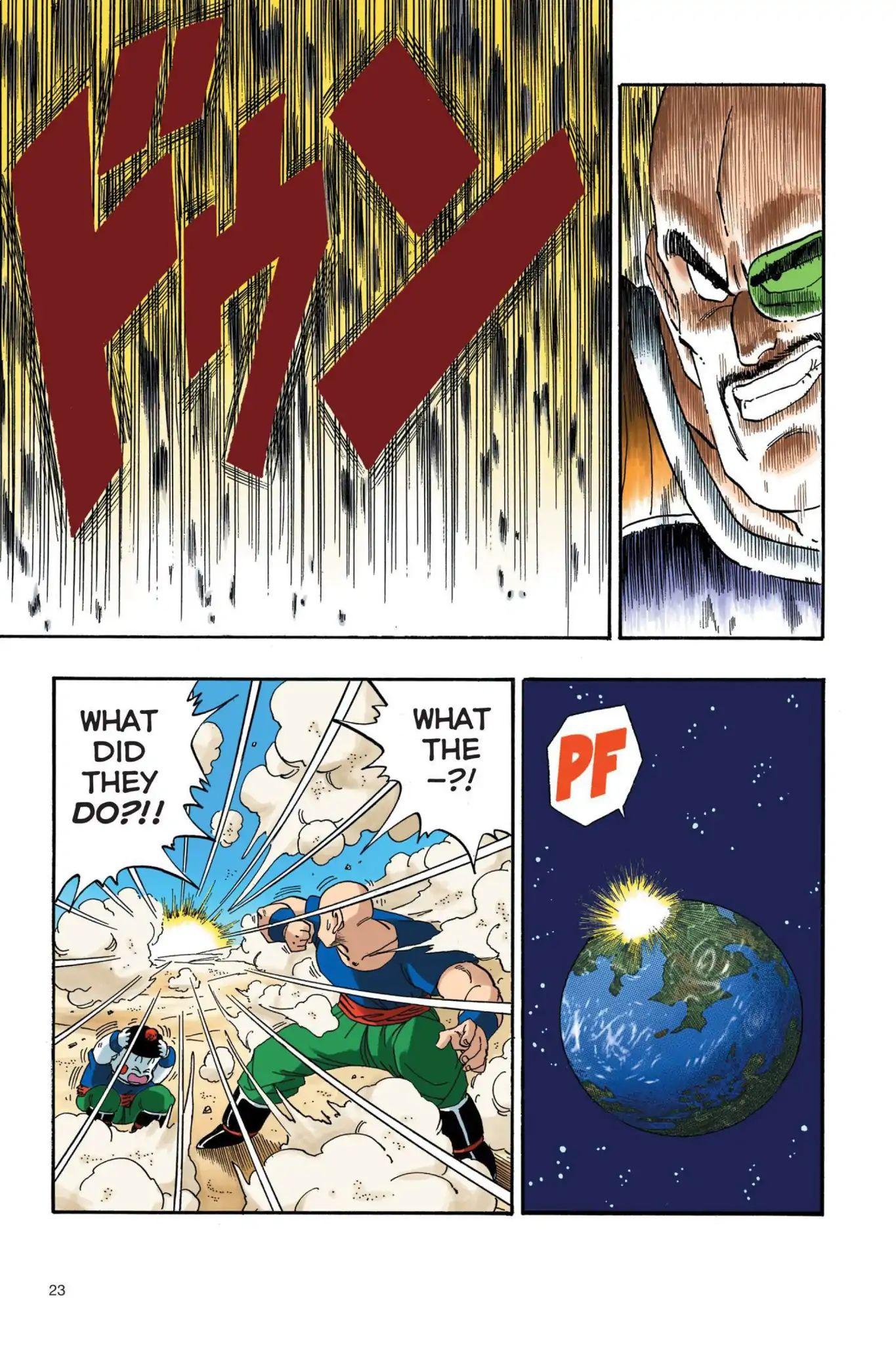Dragon Ball Full Color Saiyan Arc Chapter 19  Online Free Manga Read Image 6