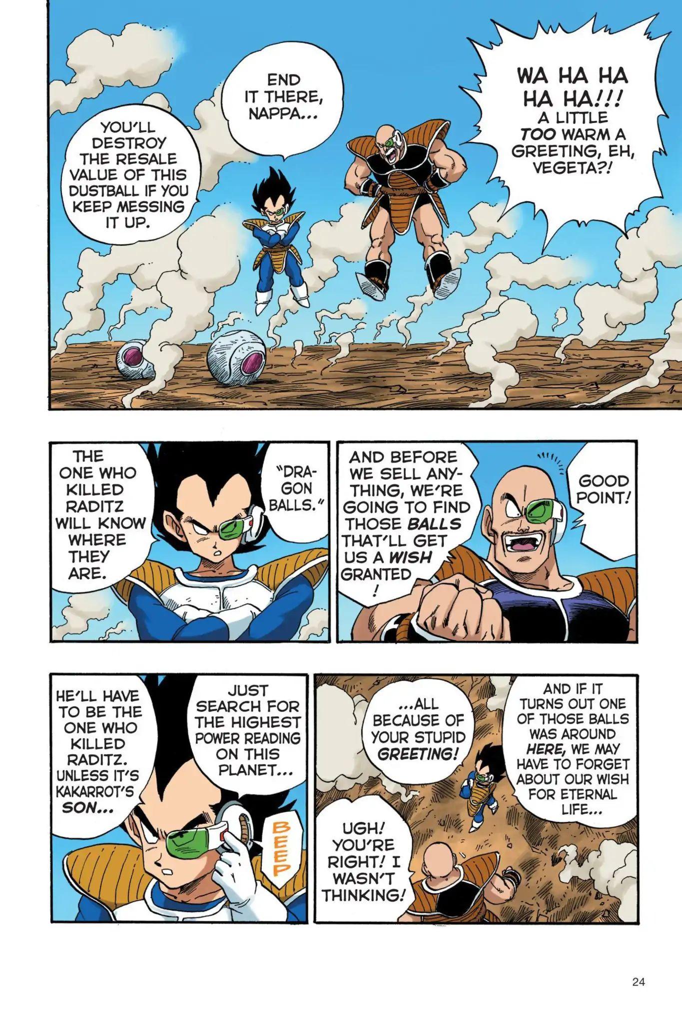 Dragon Ball Full Color Saiyan Arc Chapter 19  Online Free Manga Read Image 7