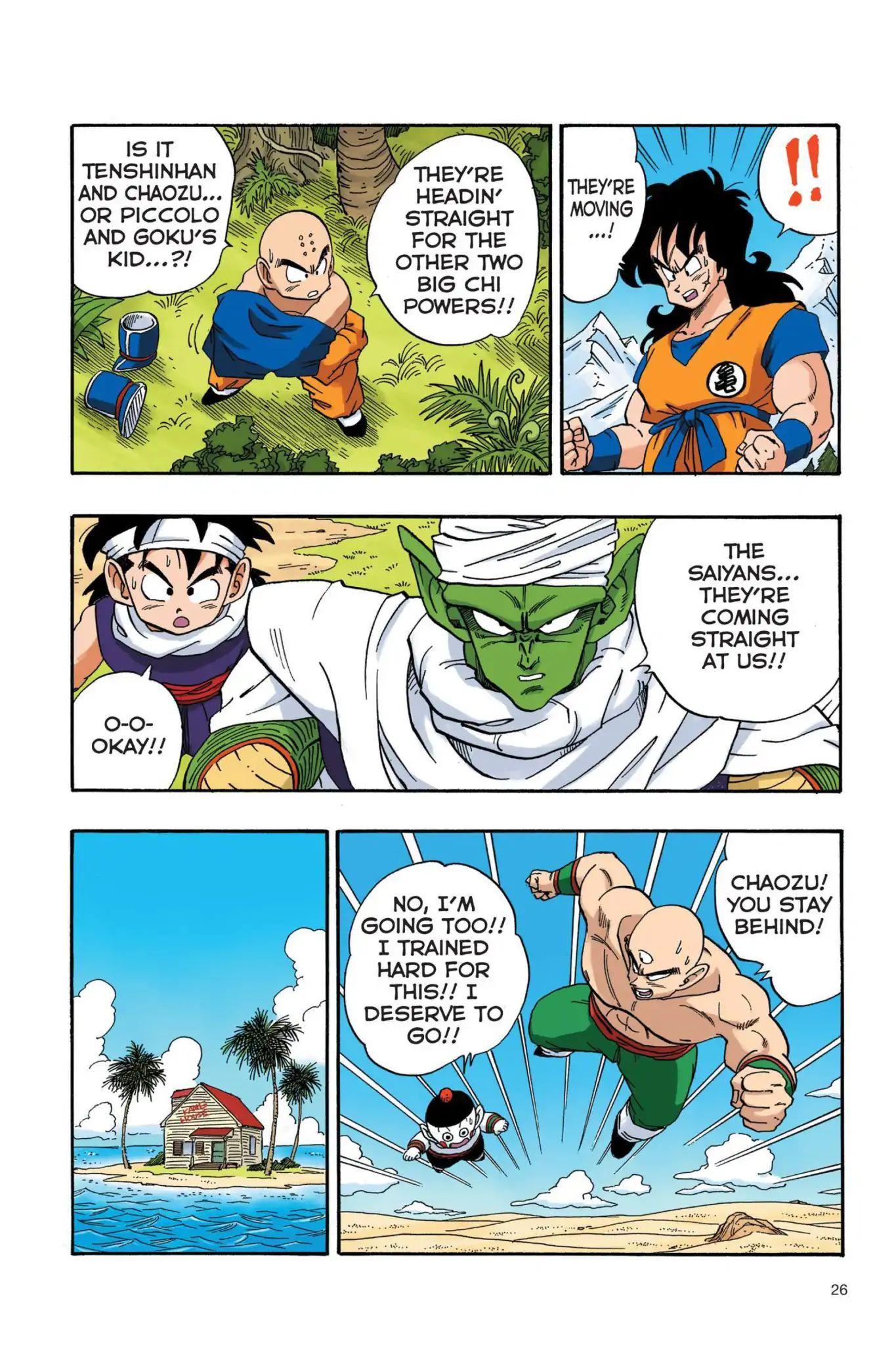 Dragon Ball Full Color Saiyan Arc Chapter 19  Online Free Manga Read Image 9