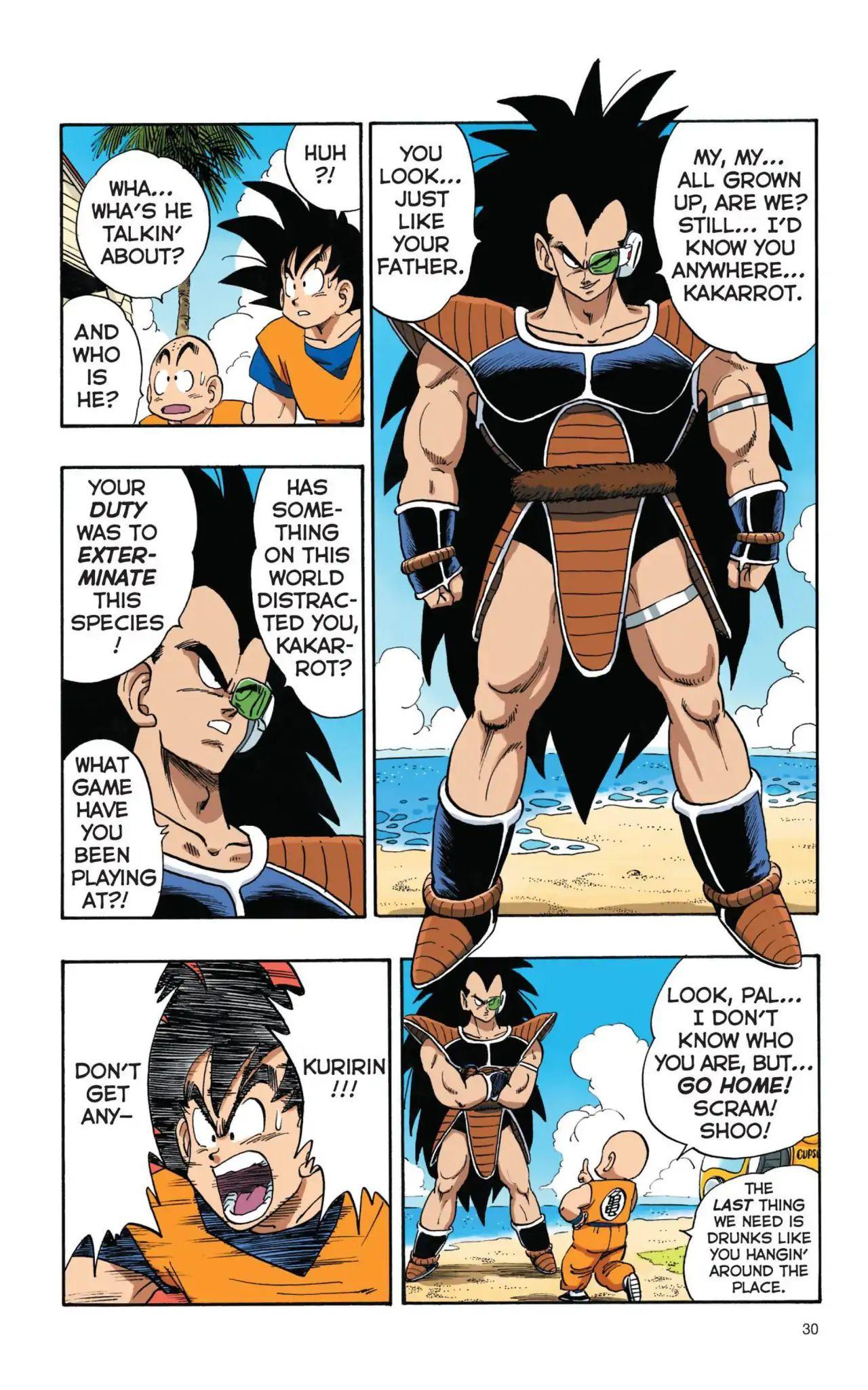 Dragon Ball Full Color Saiyan Arc Chapter 2  Online Free Manga Read Image 12
