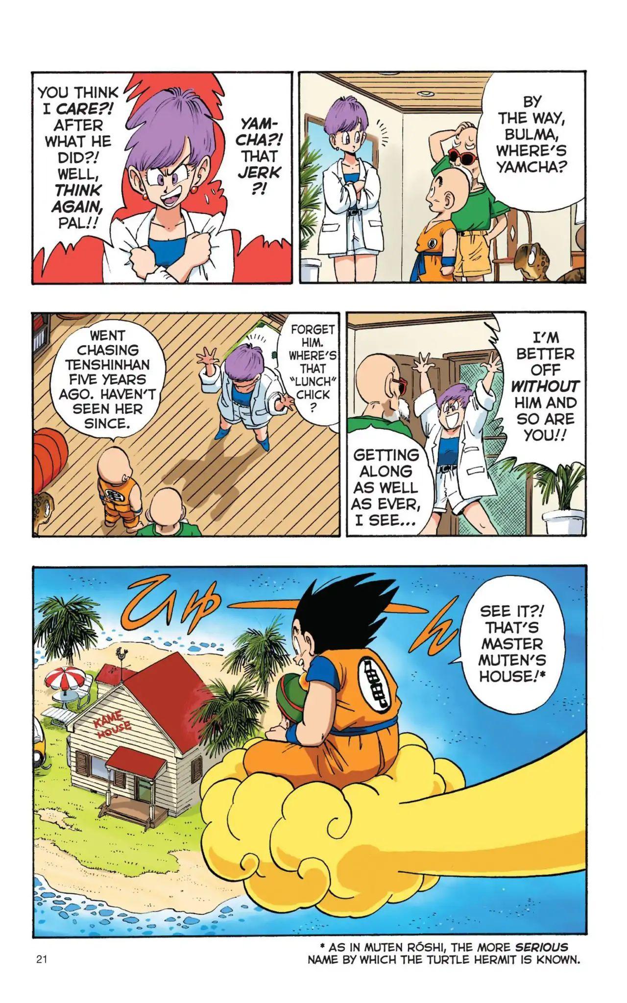 Dragon Ball Full Color Saiyan Arc Chapter 2  Online Free Manga Read Image 3