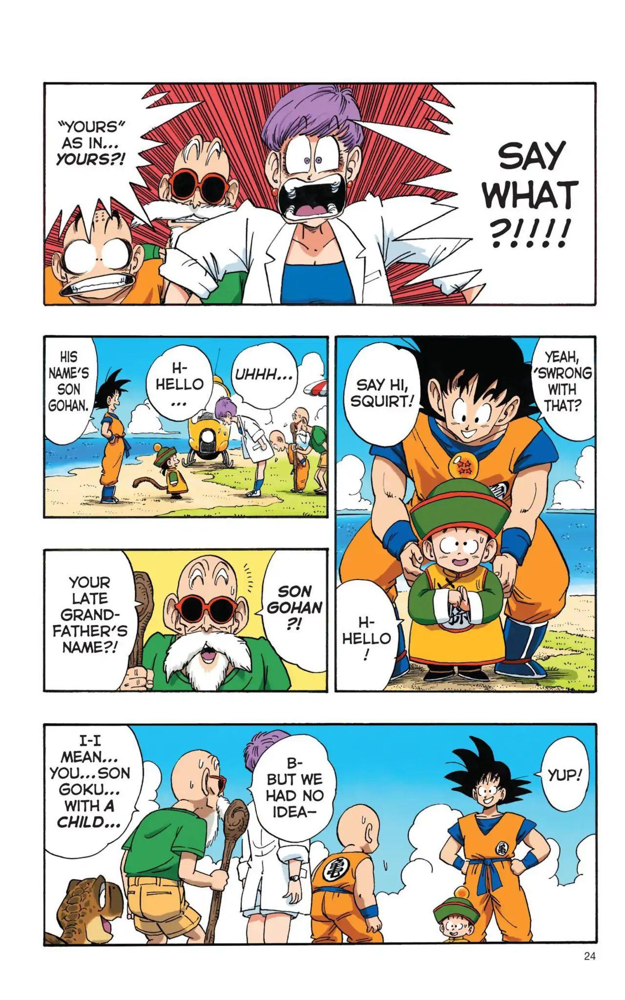 Dragon Ball Full Color Saiyan Arc Chapter 2  Online Free Manga Read Image 6