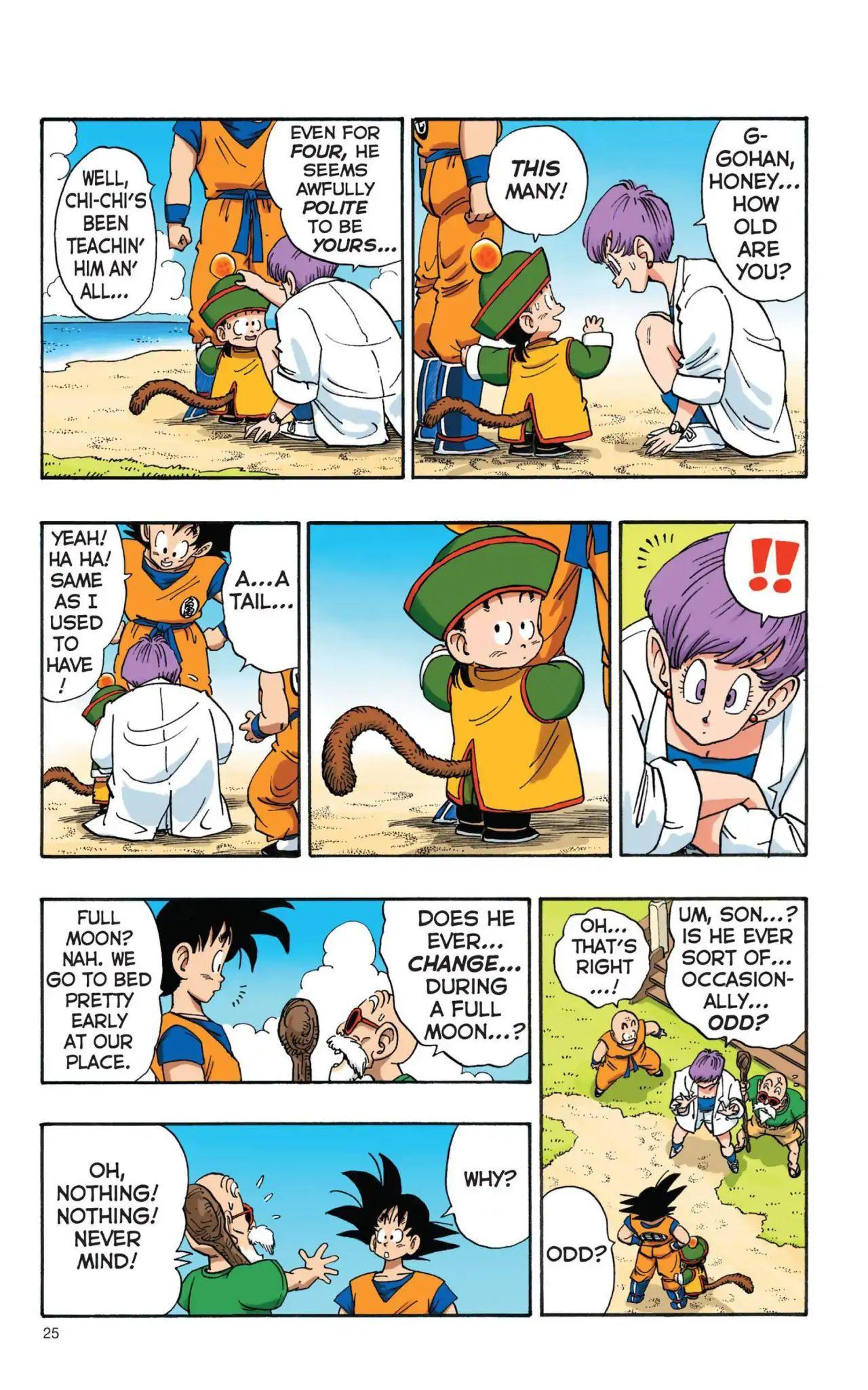 Dragon Ball Full Color Saiyan Arc Chapter 2  Online Free Manga Read Image 7