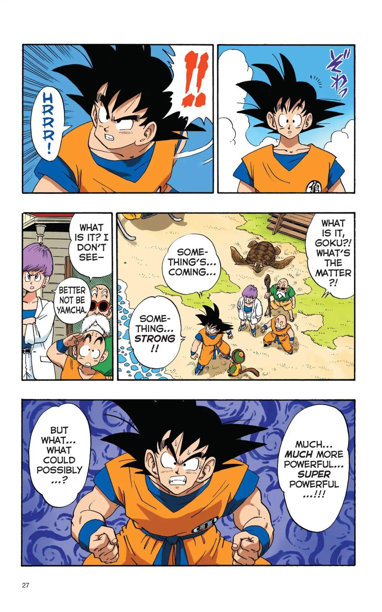 Dragon Ball Full Color Saiyan Arc Chapter 2  Online Free Manga Read Image 9