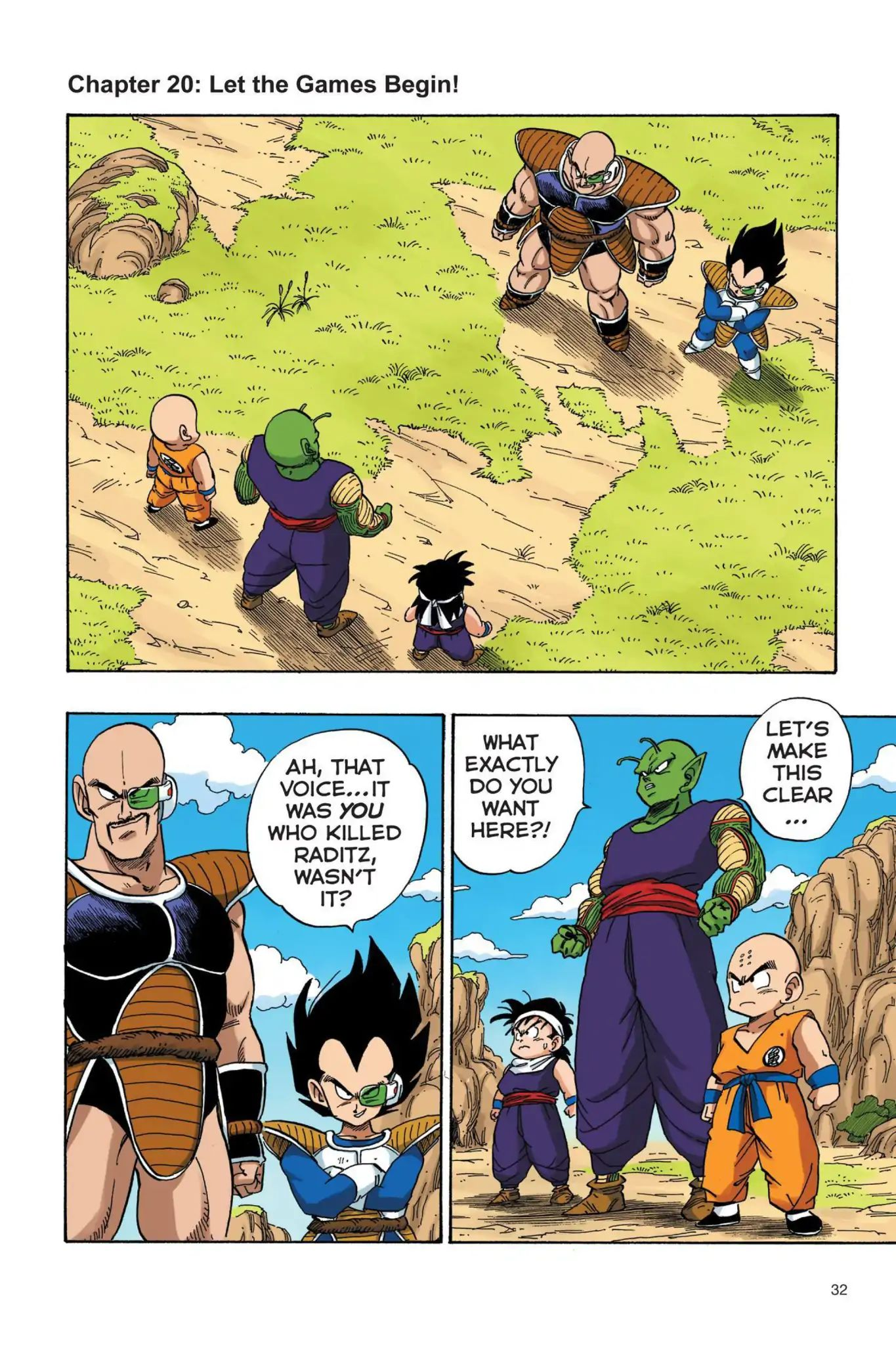 Dragon Ball Full Color Saiyan Arc Chapter 20  Online Free Manga Read Image 1