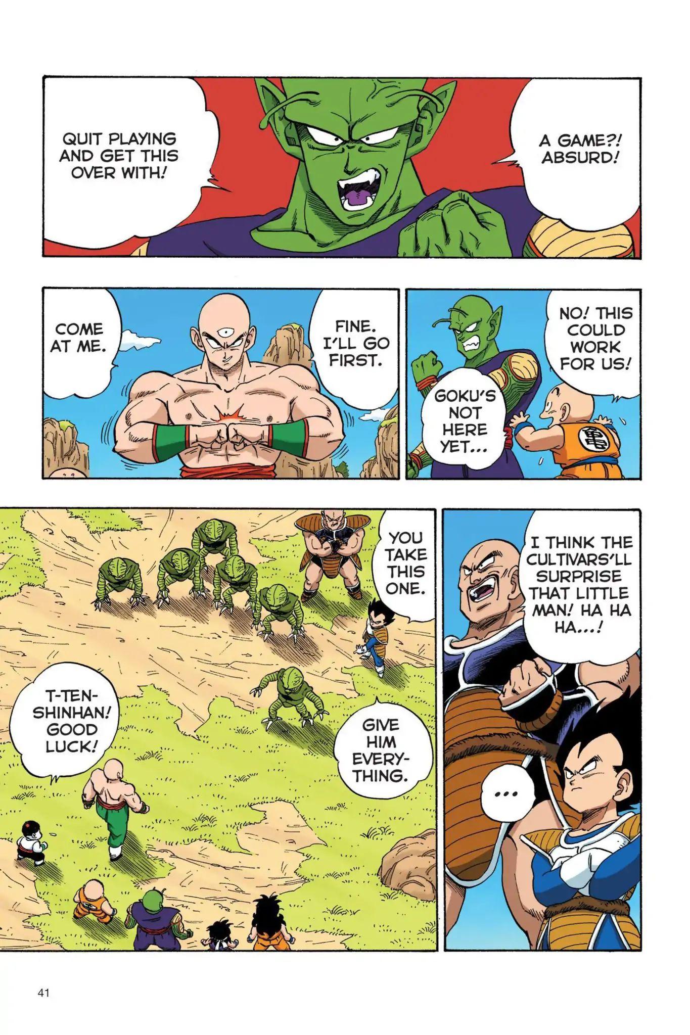 Dragon Ball Full Color Saiyan Arc Chapter 20  Online Free Manga Read Image 10