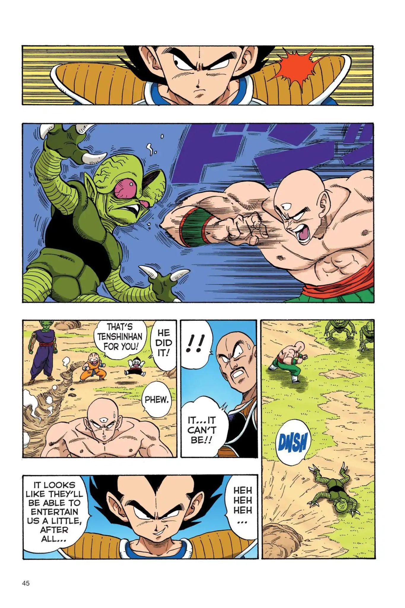 Dragon Ball Full Color Saiyan Arc Chapter 20  Online Free Manga Read Image 14