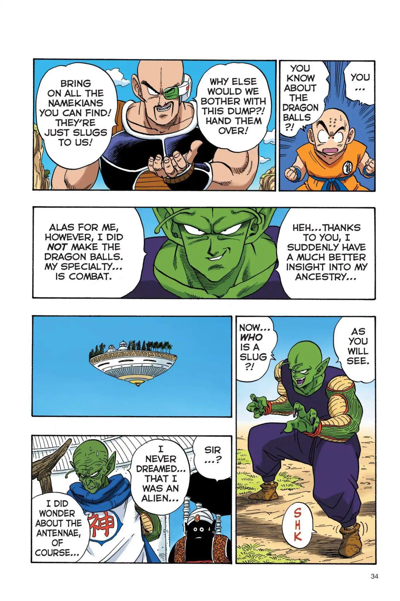 Dragon Ball Full Color Saiyan Arc Chapter 20  Online Free Manga Read Image 3