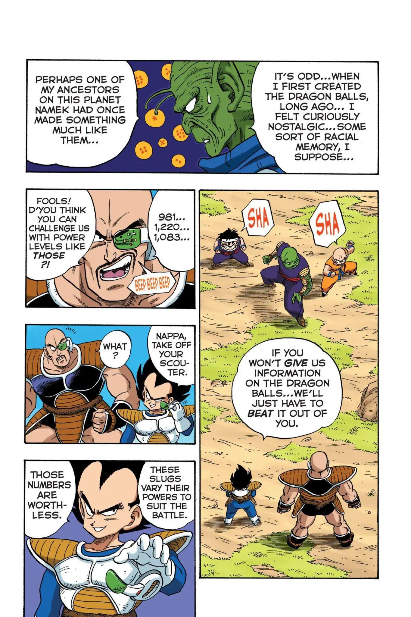 Dragon Ball Full Color Saiyan Arc Chapter 20  Online Free Manga Read Image 4