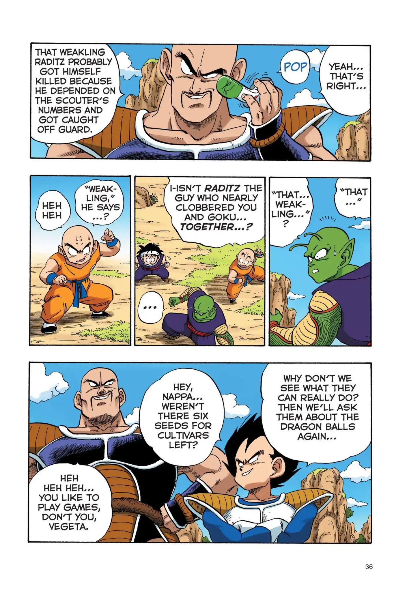 Dragon Ball Full Color Saiyan Arc Chapter 20  Online Free Manga Read Image 5