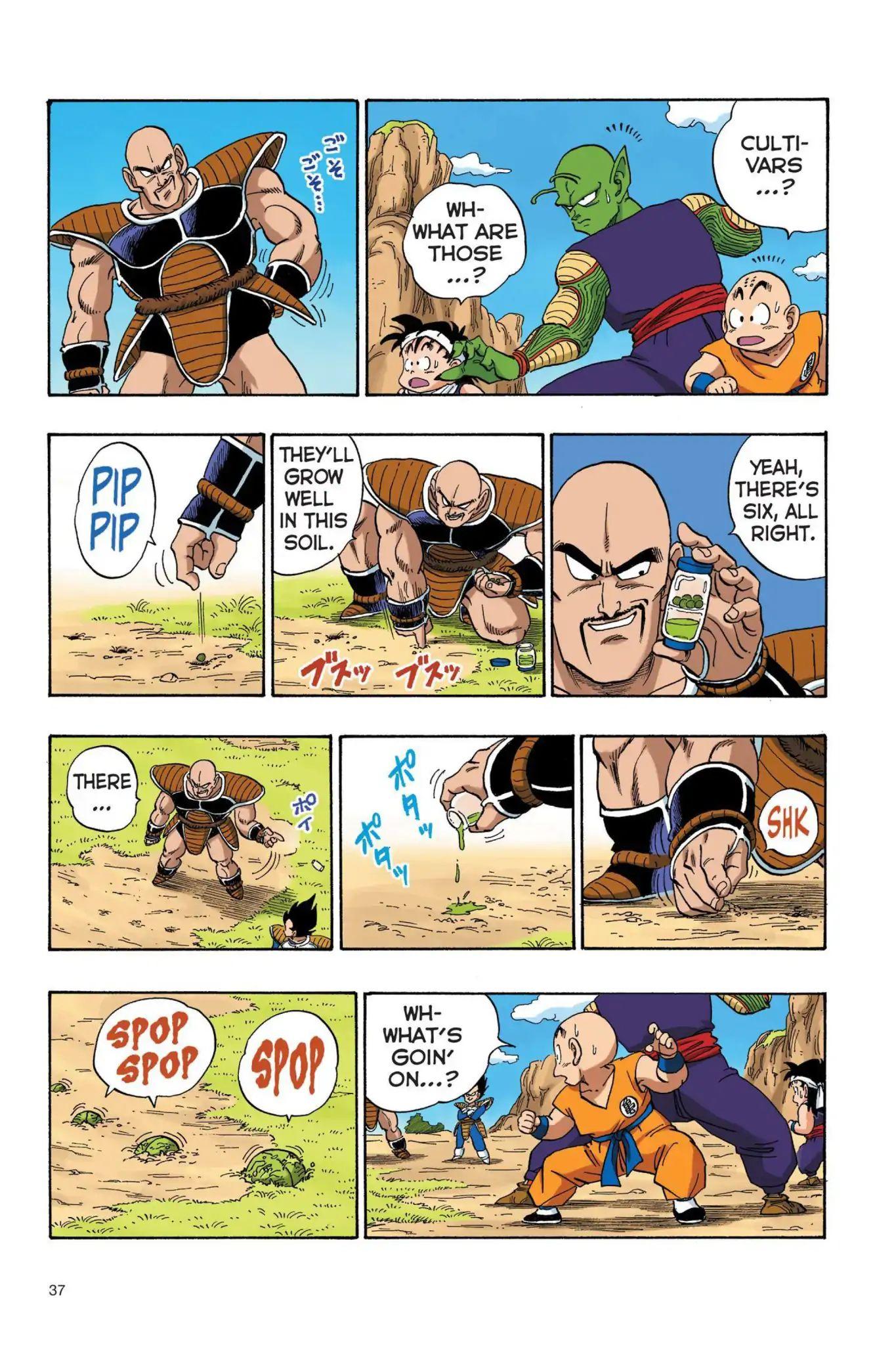 Dragon Ball Full Color Saiyan Arc Chapter 20  Online Free Manga Read Image 6