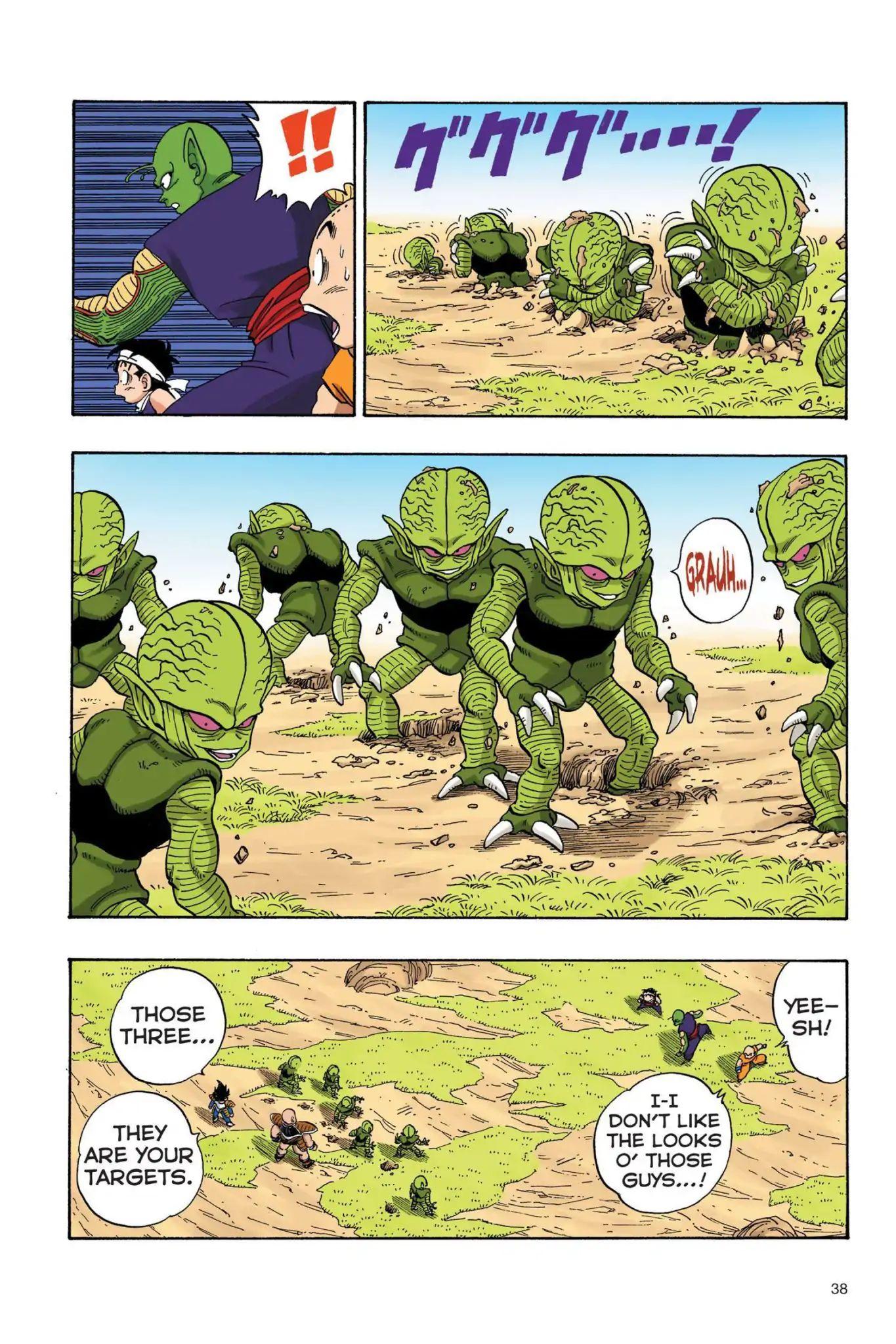 Dragon Ball Full Color Saiyan Arc Chapter 20  Online Free Manga Read Image 7