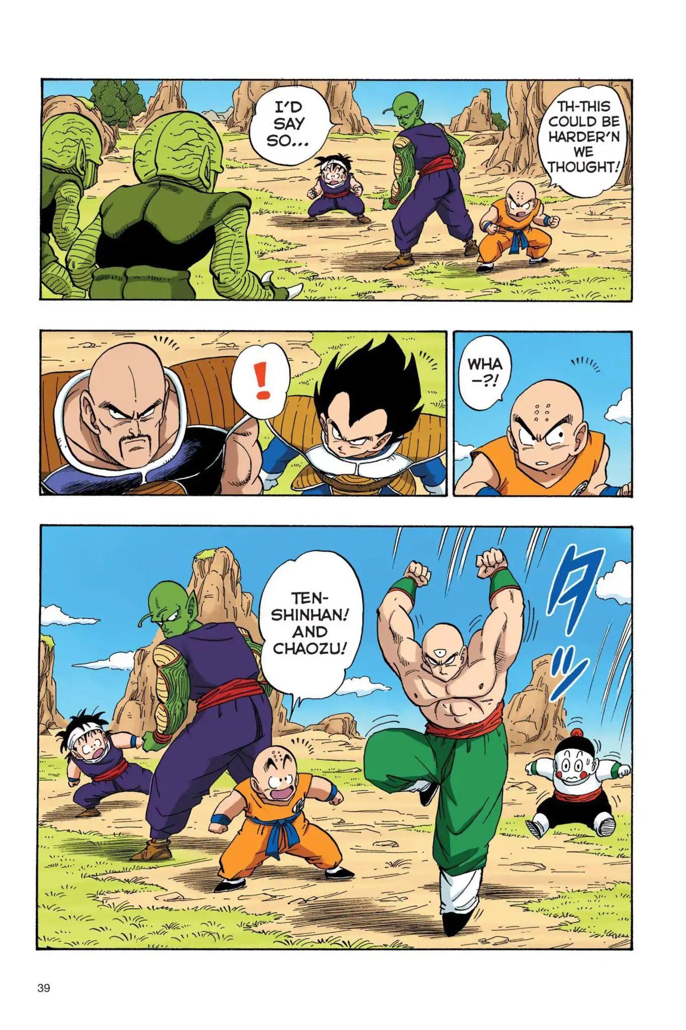 Dragon Ball Full Color Saiyan Arc Chapter 20  Online Free Manga Read Image 8