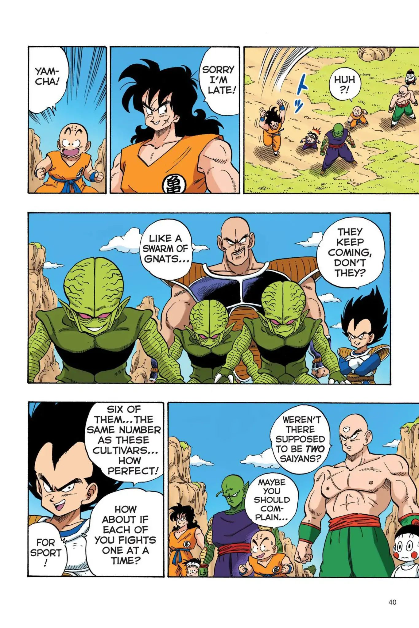 Dragon Ball Full Color Saiyan Arc Chapter 20  Online Free Manga Read Image 9