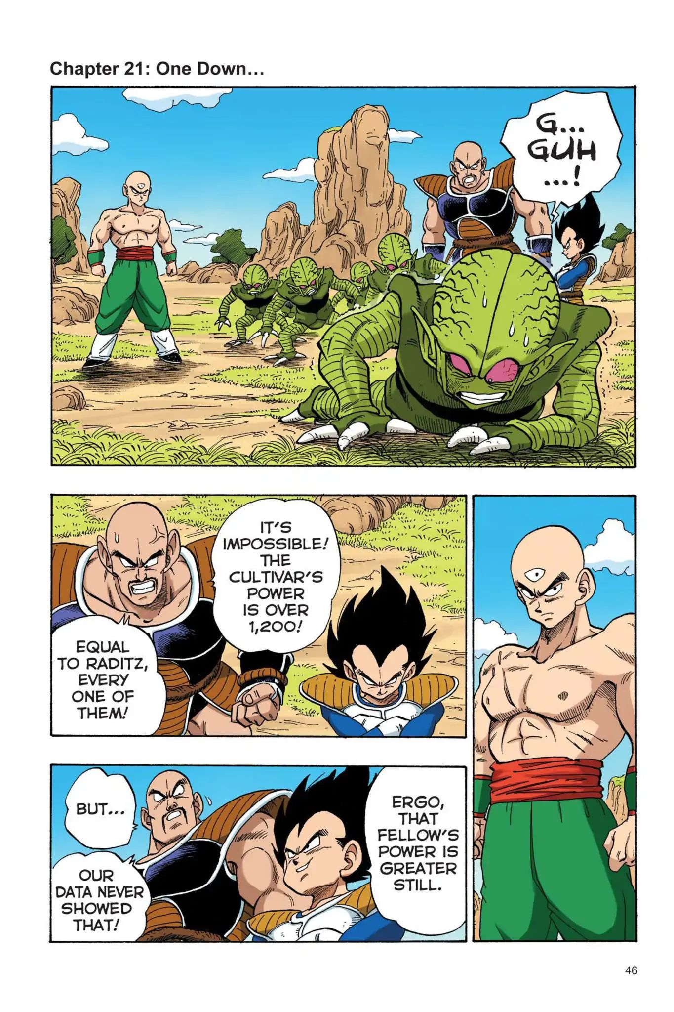 Dragon Ball Full Color Saiyan Arc Chapter 21  Online Free Manga Read Image 1