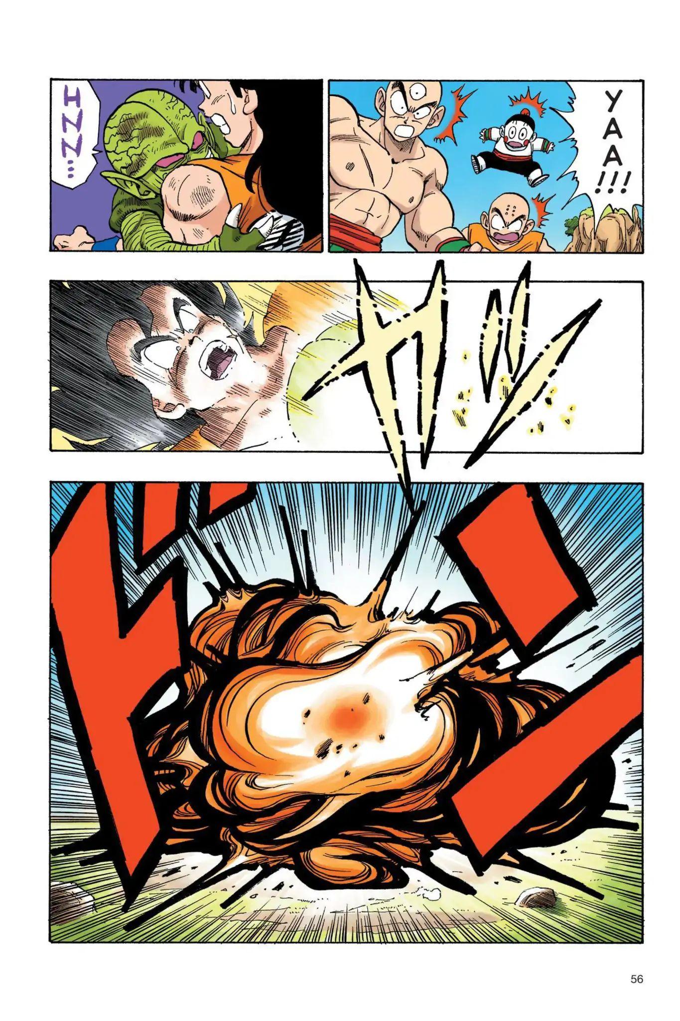 Dragon Ball Full Color Saiyan Arc Chapter 21  Online Free Manga Read Image 11