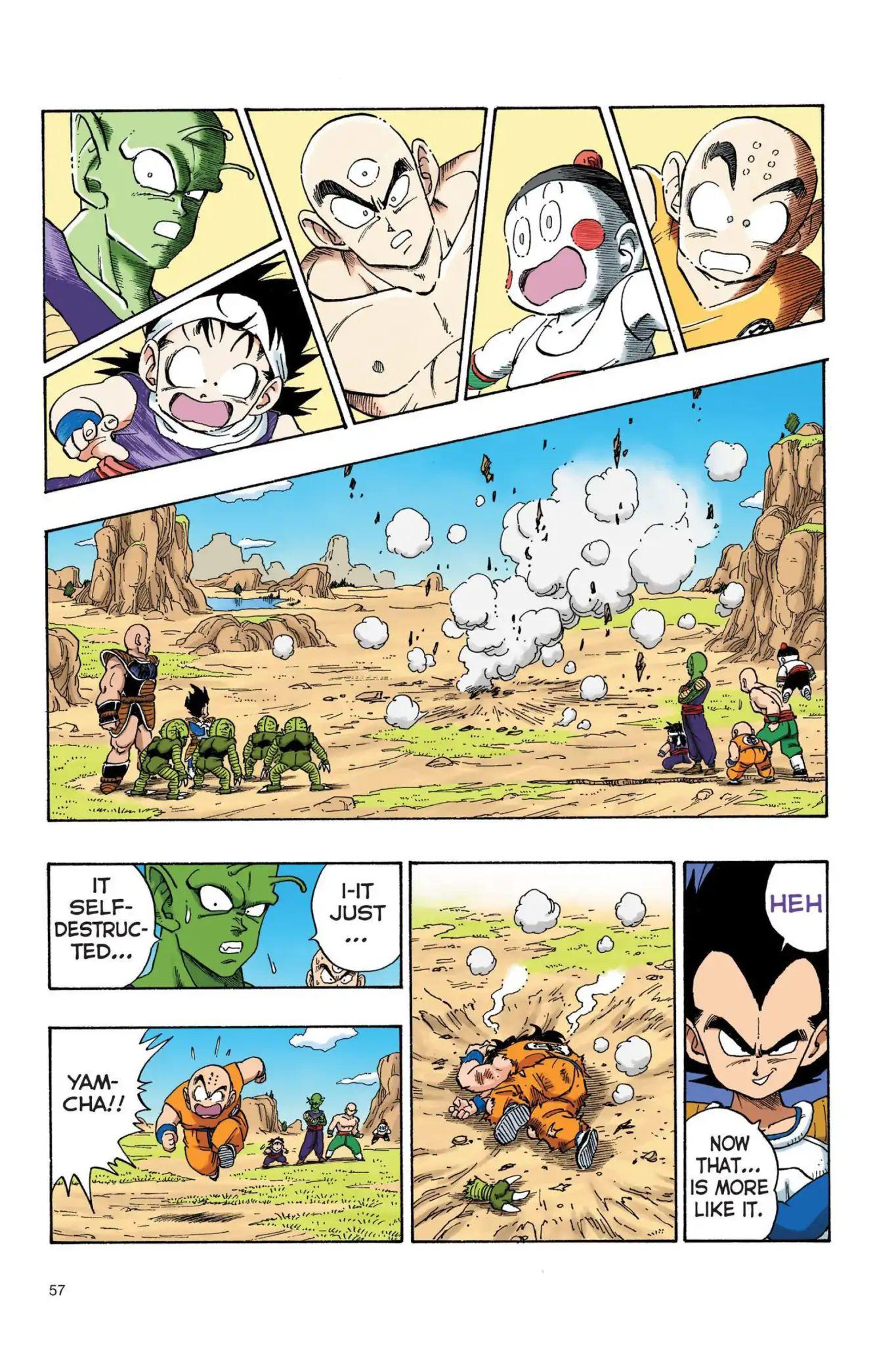 Dragon Ball Full Color Saiyan Arc Chapter 21  Online Free Manga Read Image 12