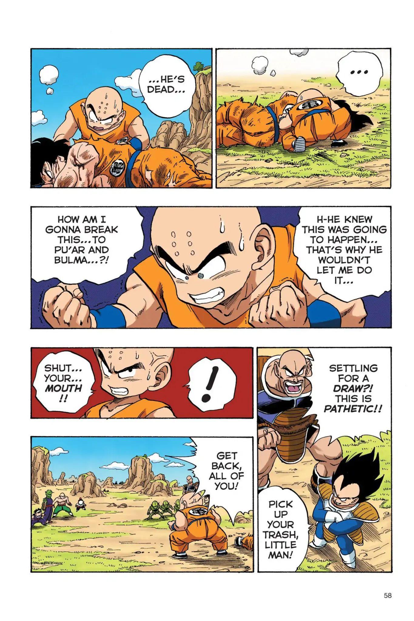 Dragon Ball Full Color Saiyan Arc Chapter 21  Online Free Manga Read Image 13