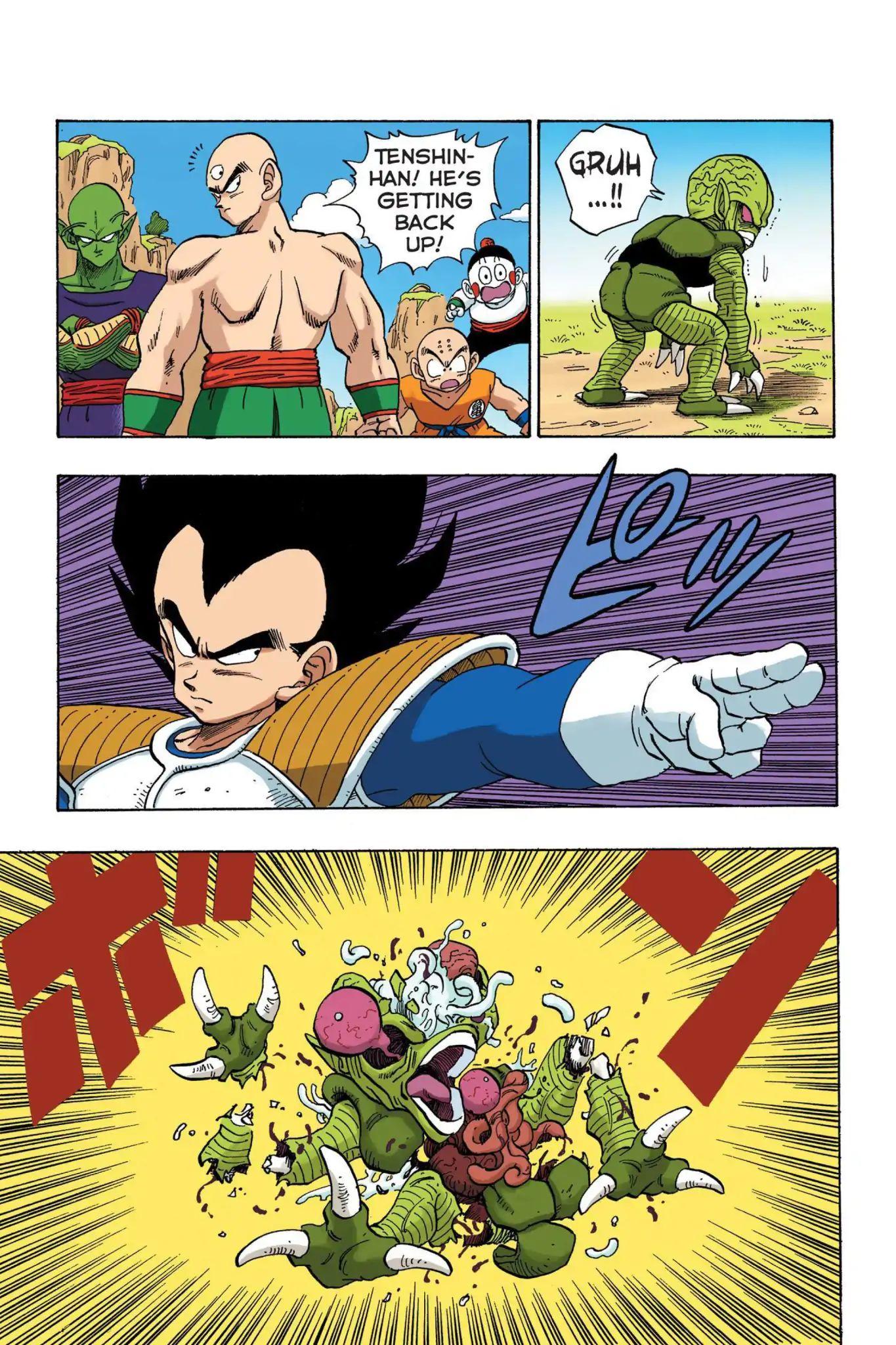 Dragon Ball Full Color Saiyan Arc Chapter 21  Online Free Manga Read Image 2