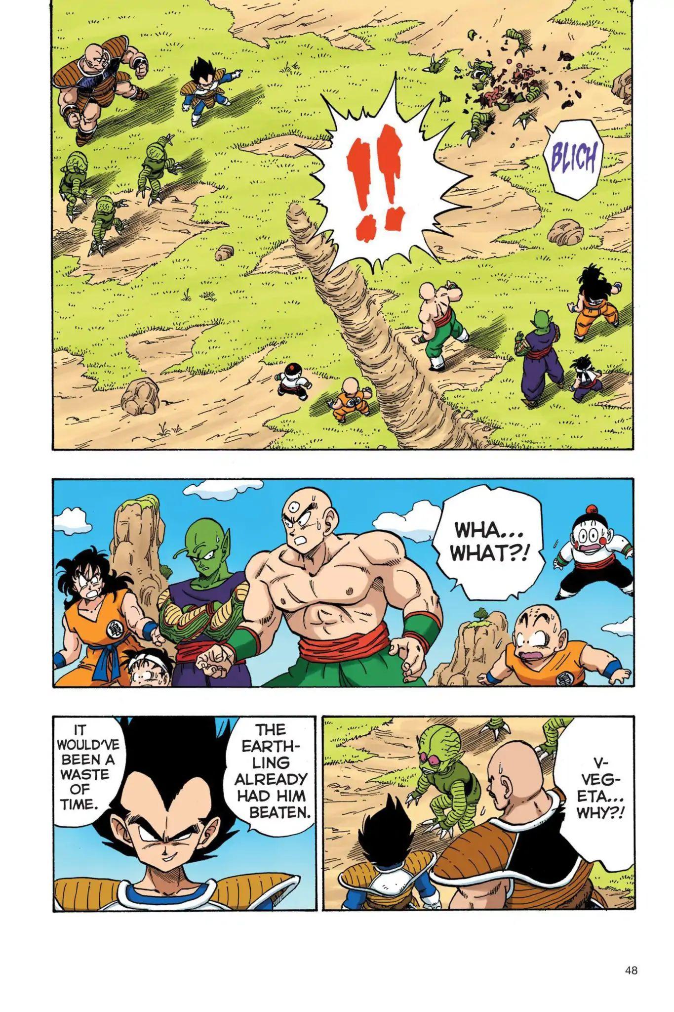 Dragon Ball Full Color Saiyan Arc Chapter 21  Online Free Manga Read Image 3