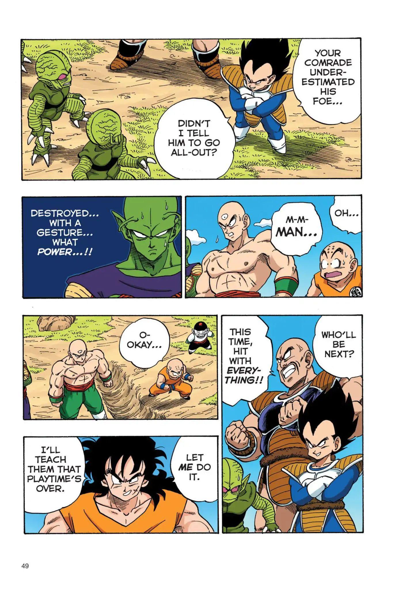 Dragon Ball Full Color Saiyan Arc Chapter 21  Online Free Manga Read Image 4
