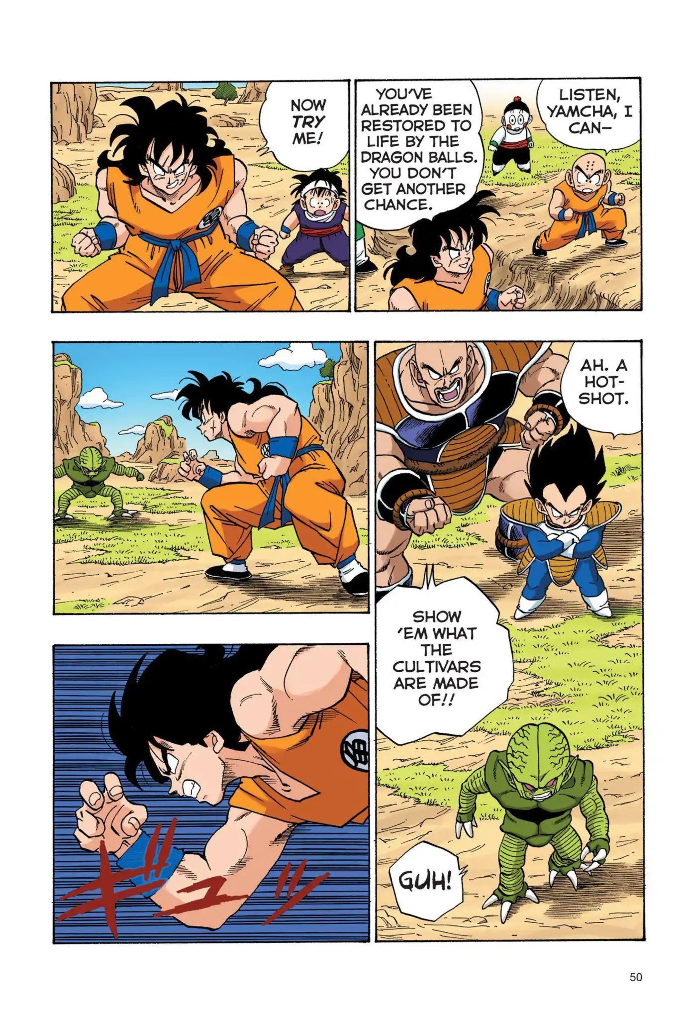 Dragon Ball Full Color Saiyan Arc Chapter 21  Online Free Manga Read Image 5