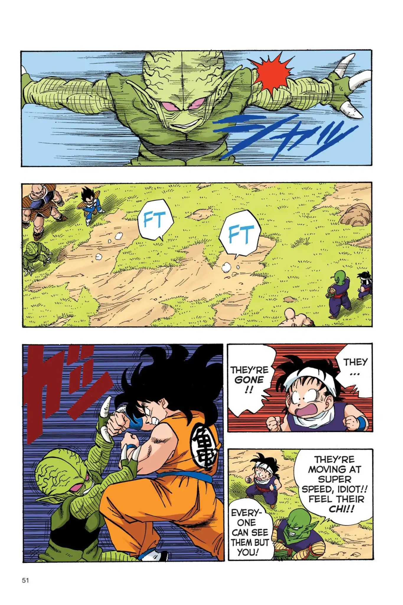 Dragon Ball Full Color Saiyan Arc Chapter 21  Online Free Manga Read Image 6