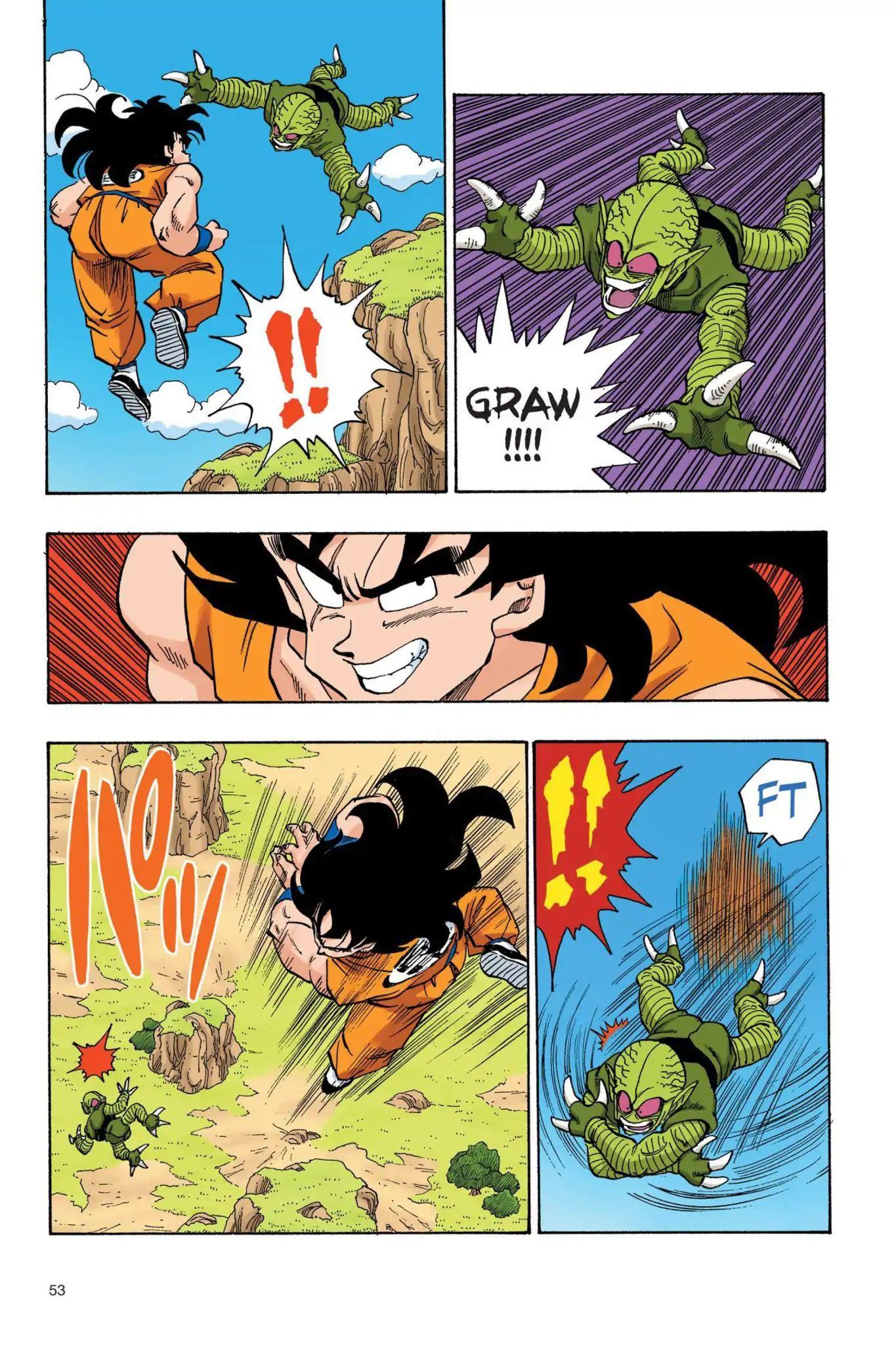Dragon Ball Full Color Saiyan Arc Chapter 21  Online Free Manga Read Image 8