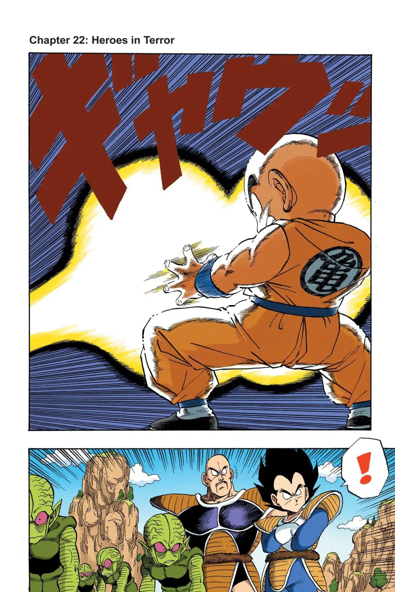 Dragon Ball Full Color Saiyan Arc Chapter 22  Online Free Manga Read Image 1
