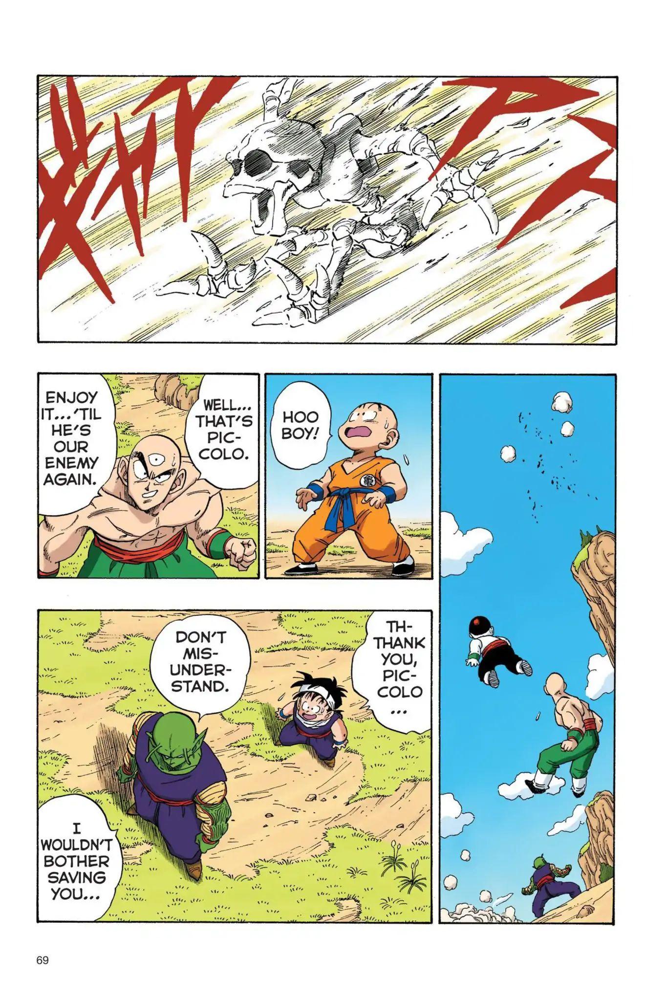 Dragon Ball Full Color Saiyan Arc Chapter 22  Online Free Manga Read Image 10